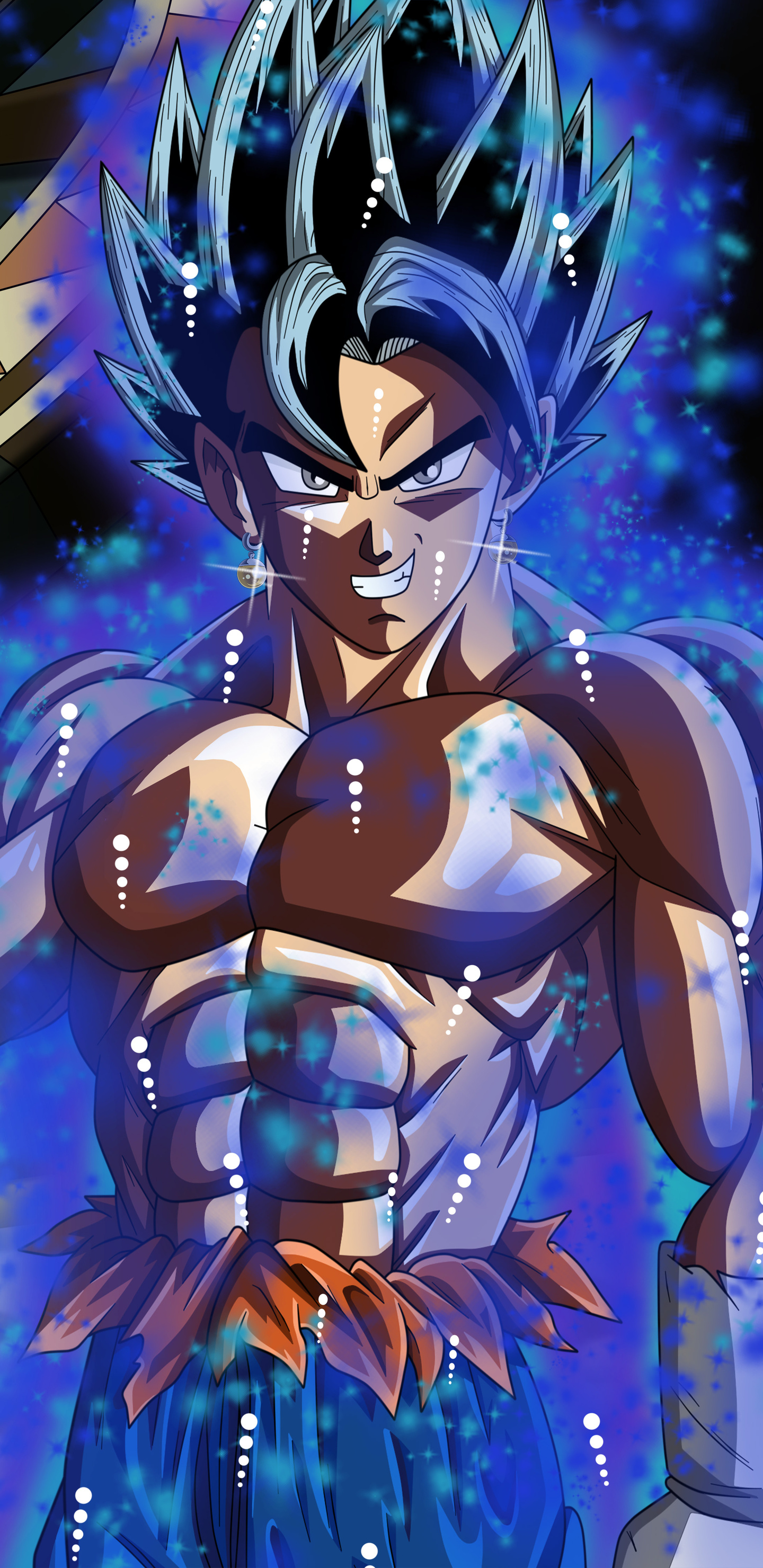 1440x2960 goku dragon ball super 8k samsung galaxy note 9 - Samsung s9 wallpaper 4k ...