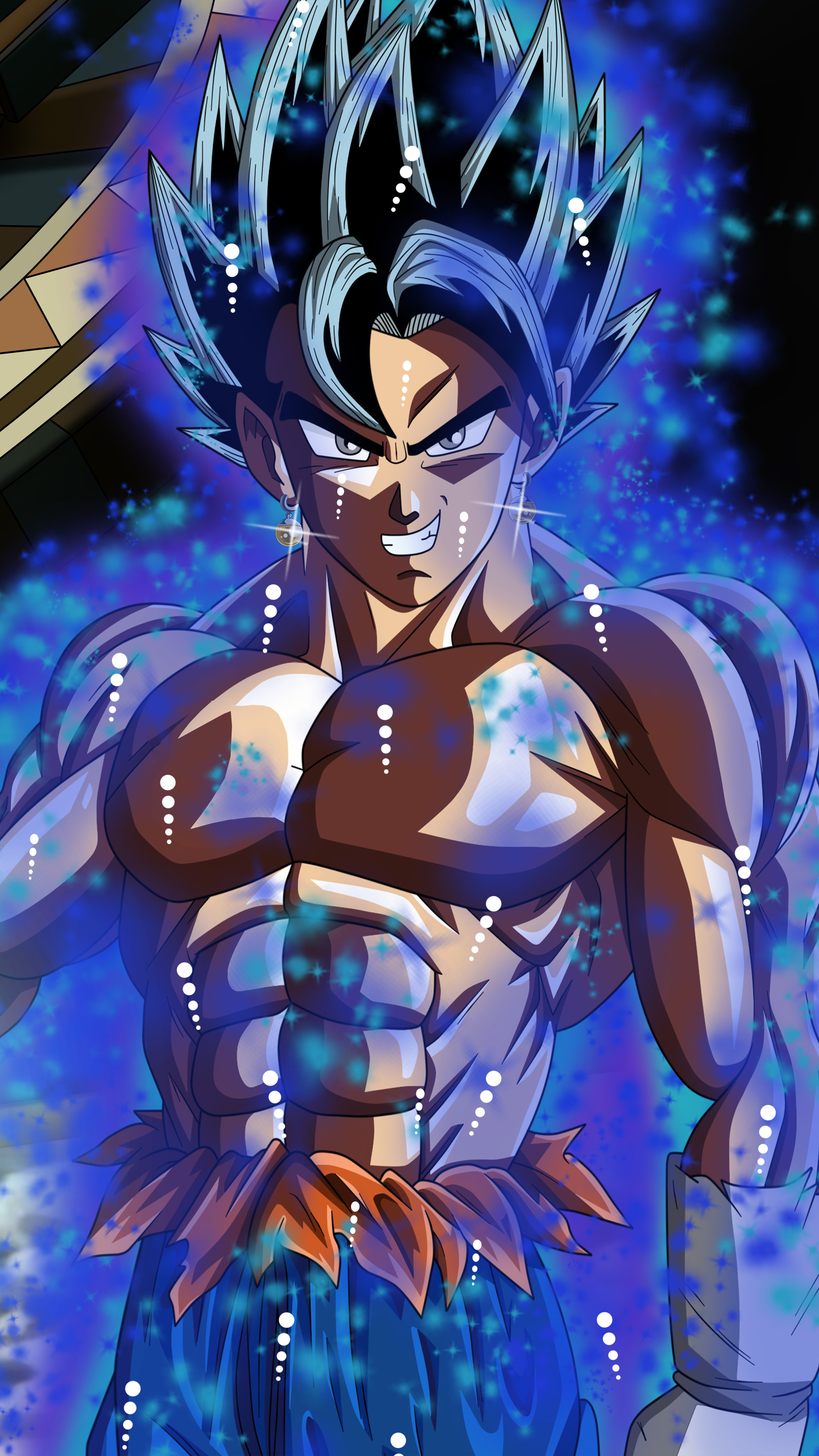 2160x3840 Goku Dragon Ball Super 8k Sony Xperia X,XZ,Z5