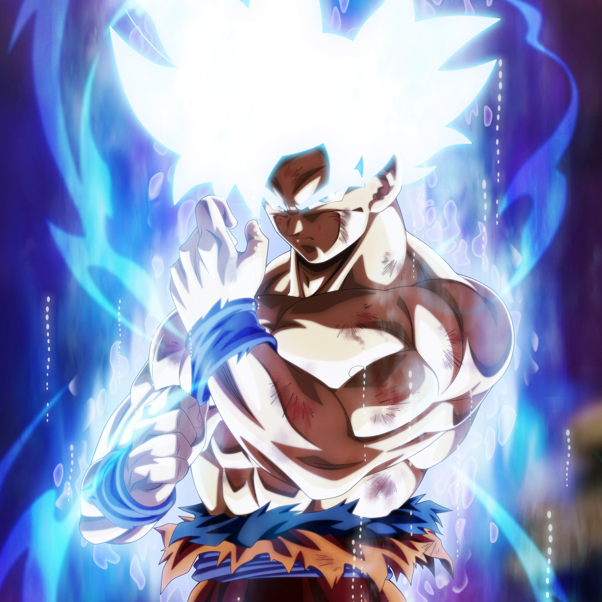 Dragon Ball Super Christmas Wallpaper: 2048x2048 Goku Dragon Ball Super Anime 5k Fan Made Ipad