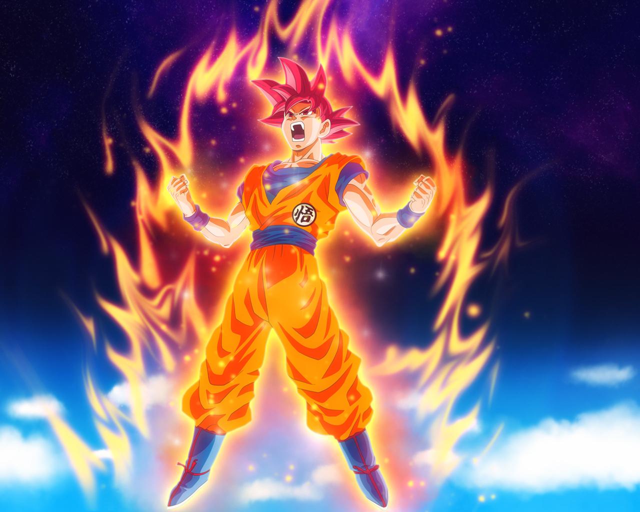 1280x1024 Goku Dragon Ball Super Anime Hd 1280x1024 Resolution Hd