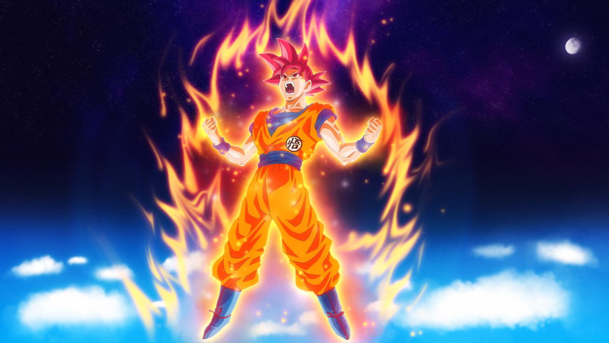 2048x1152 Goku Dragon Ball Super Anime Hd 2048x1152