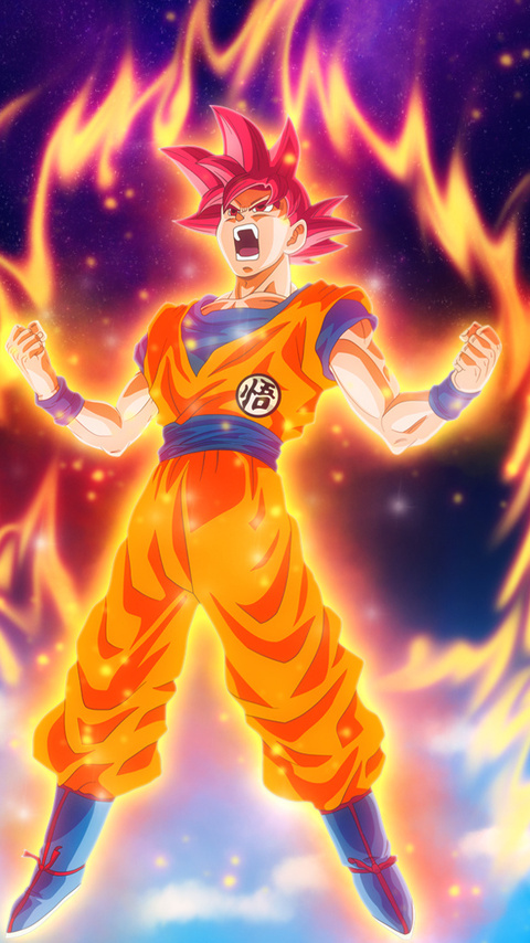 480x854 Goku Dragon Ball Super Anime Hd Android One Hd 4k Wallpapers