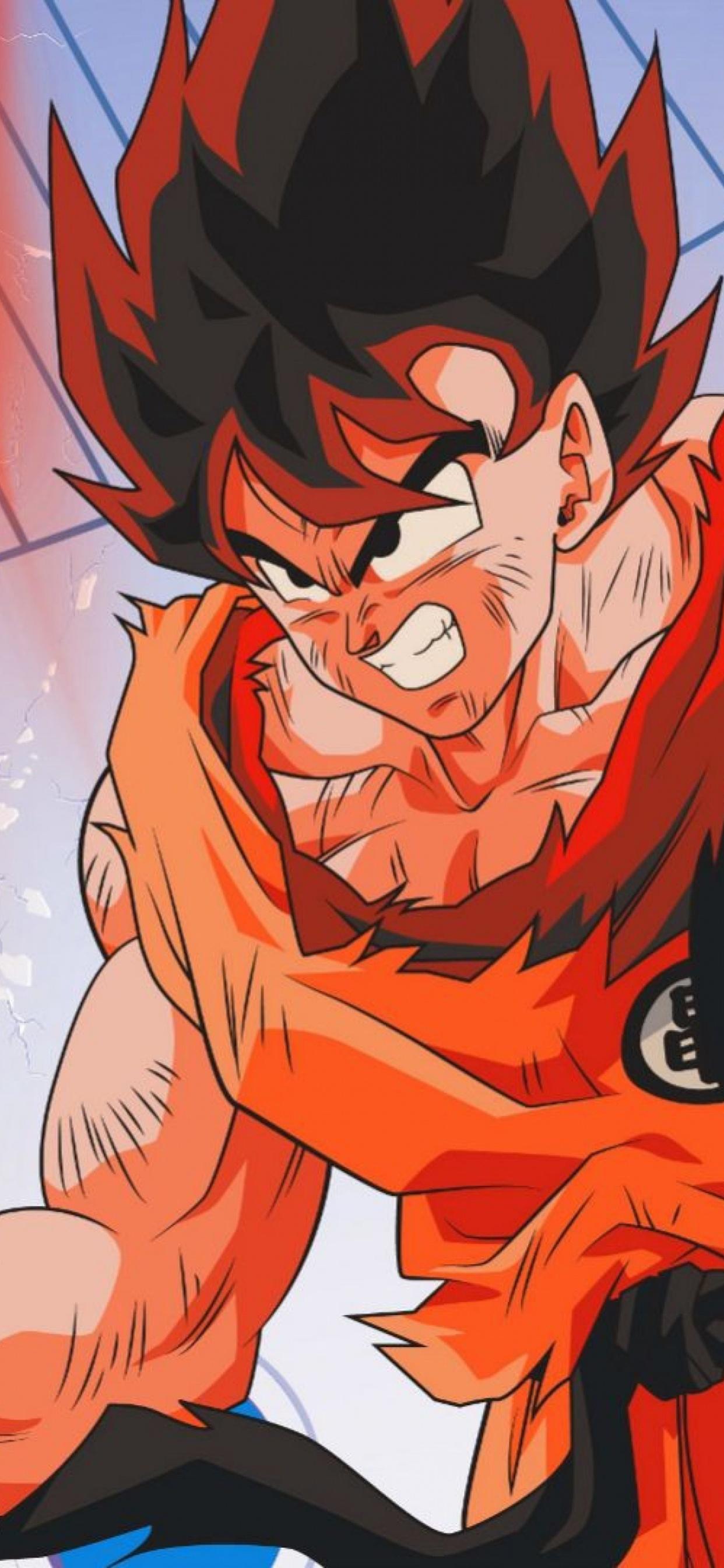 1242x2688 Goku Dragon Ball Z 4k Iphone Xs Max Hd 4k