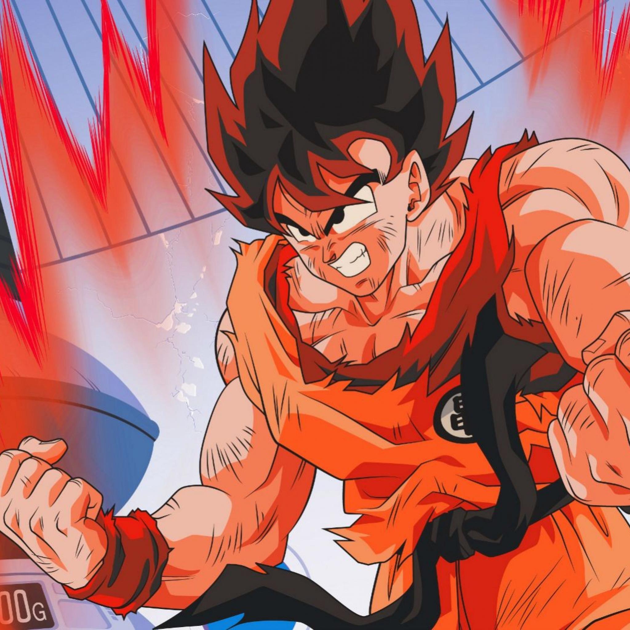 2048x2048 Goku Dragon Ball Z 4k Ipad Air Hd 4k Wallpapers