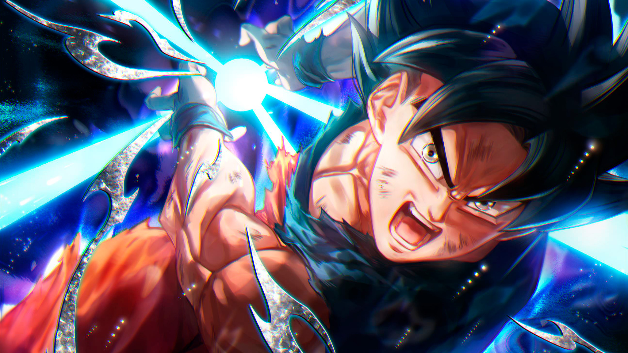 2048x1152 Goku In Dragon Ball Super Anime 4k 2048x1152 Resolution HD 4k Wallpapers, Images ...