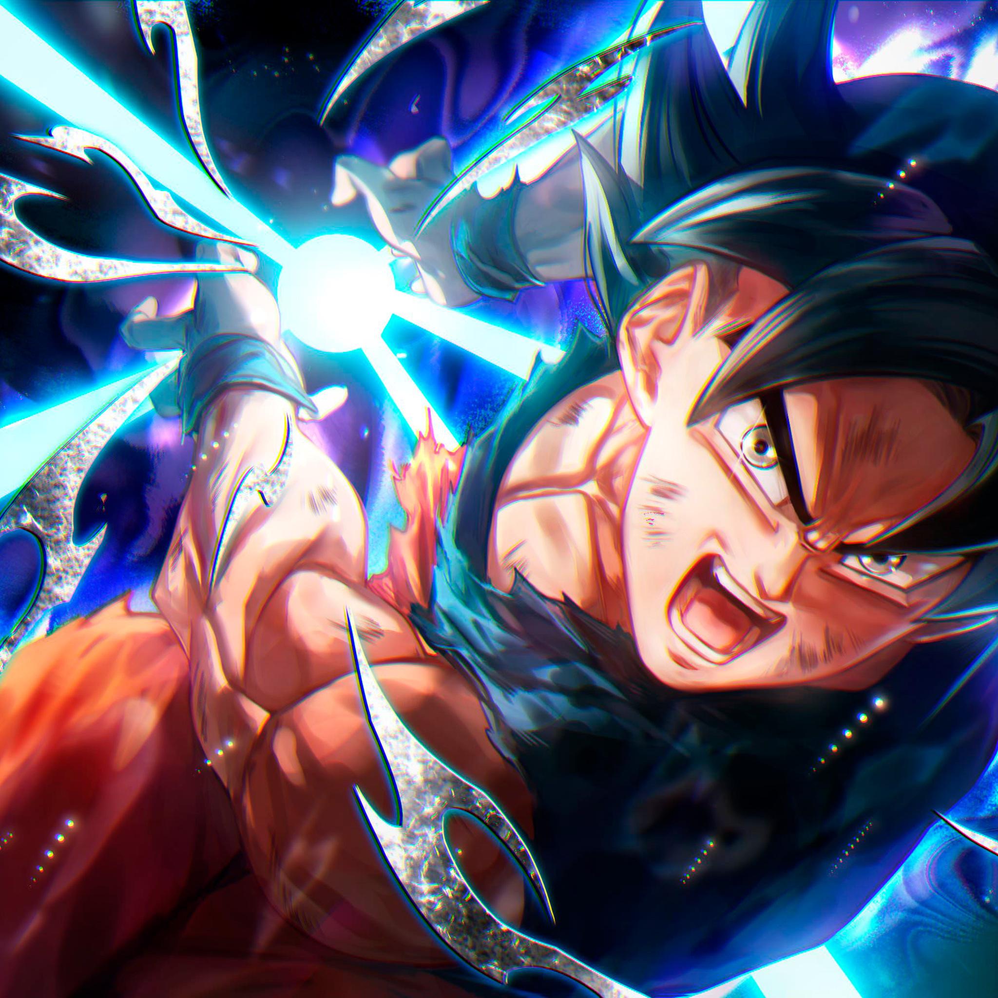 2048x2048 Goku In Dragon Ball Super Anime 4k Ipad Air Hd 4k
