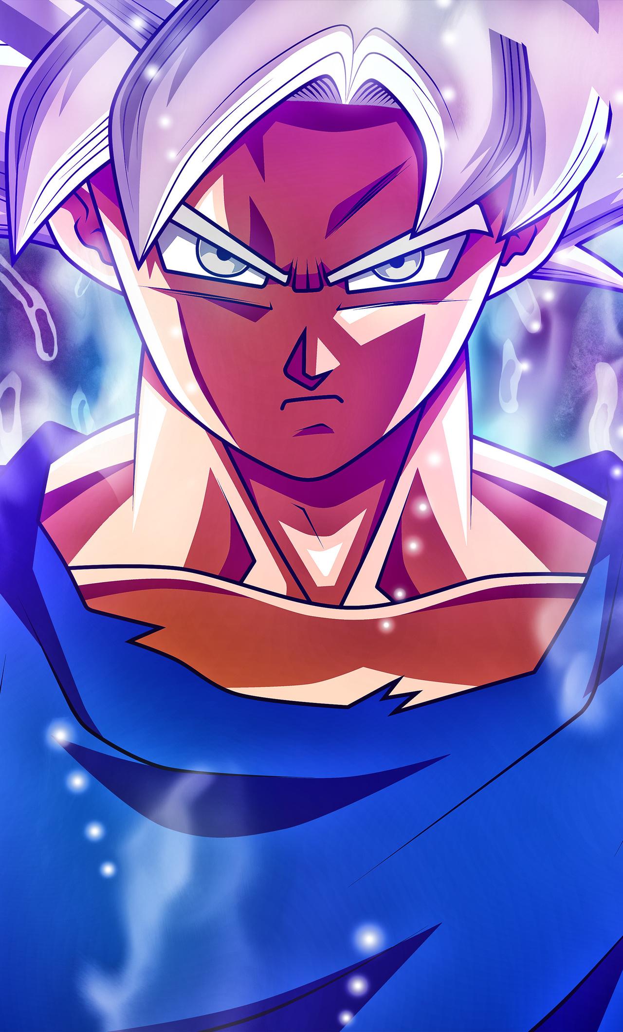 Goku Mastered Ultra Instinct Wallpaper 4k