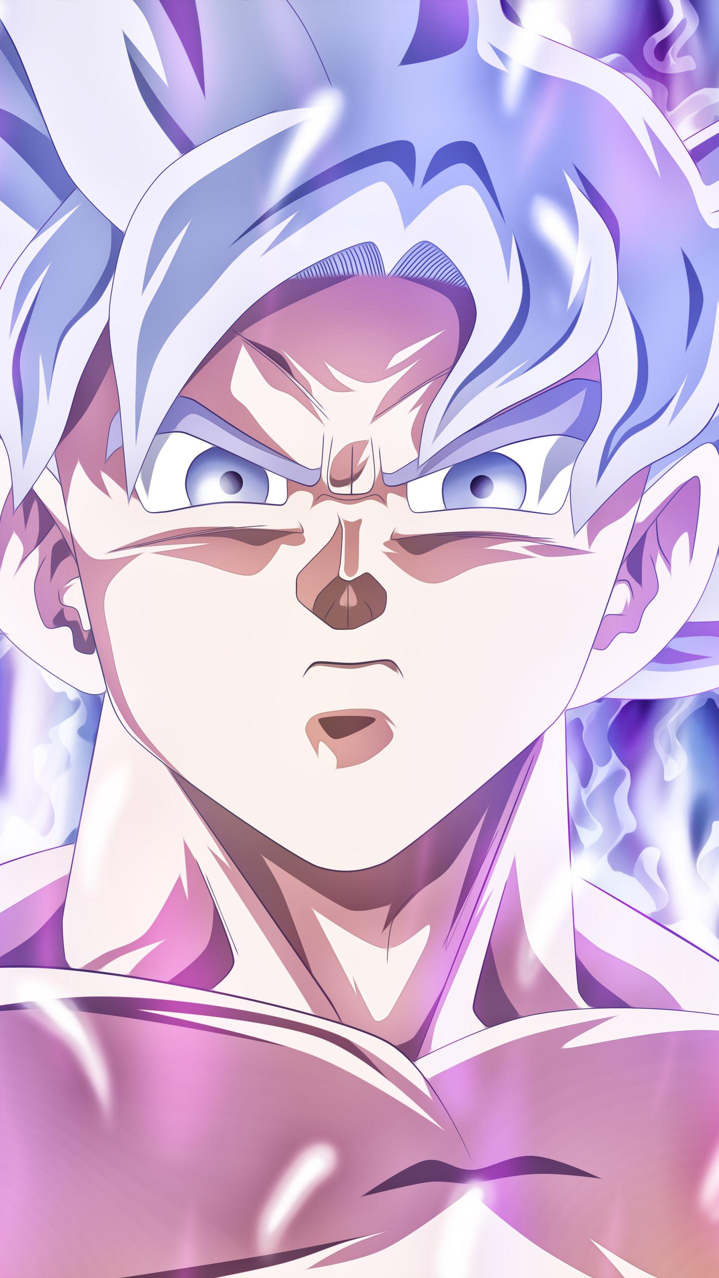 1440x2560 Goku Mastered Ultra Instinct Samsung Galaxy S6 ...