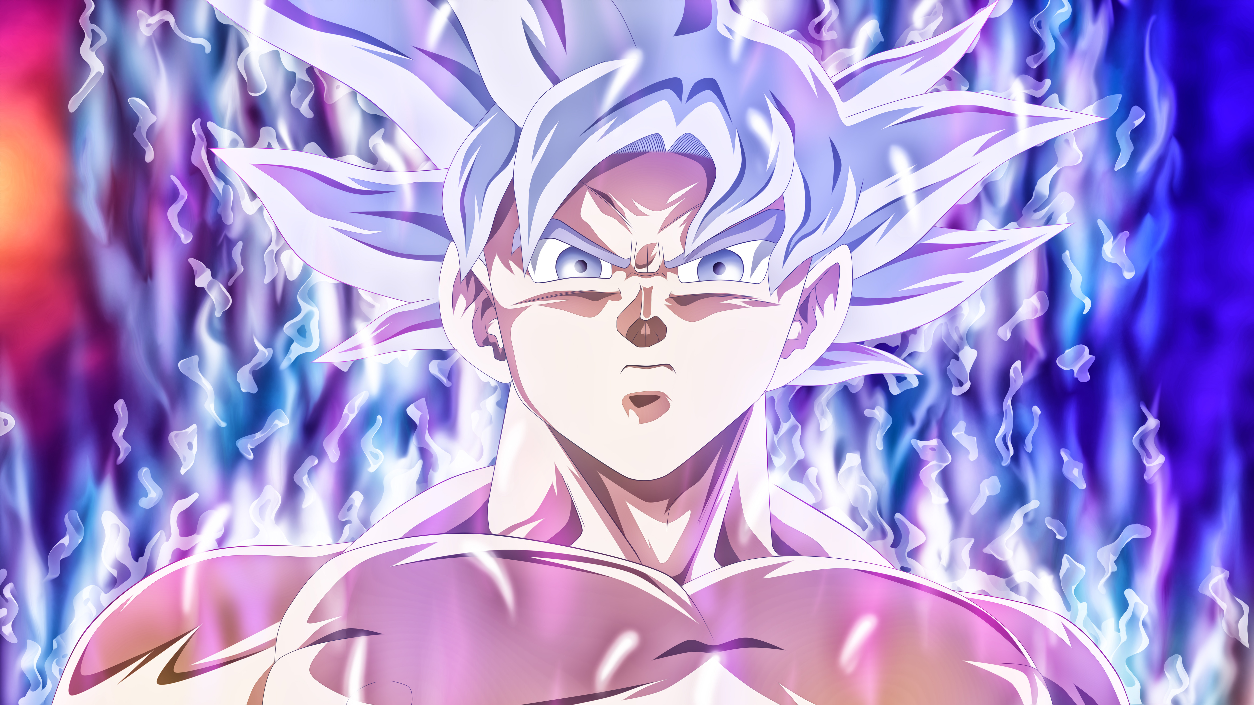 5120x2880 goku mastered ultra instinct 5k hd 4k wallpapers images backgrounds photos and pictures - Mui goku wallpaper ...