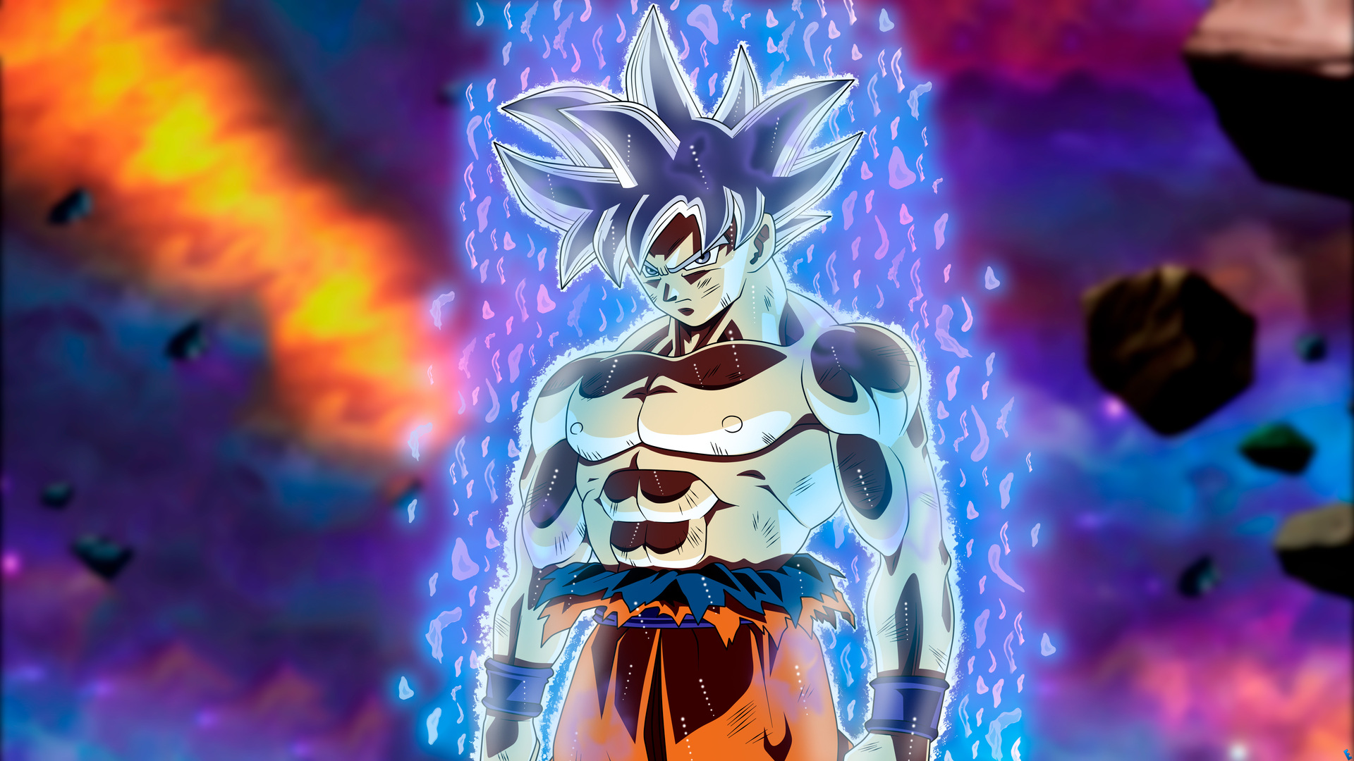 Goku Ultra Instinct Wallpaper 1080p: 1920x1080 Goku Migatte No Gokui Perfecto Ultra Instinct
