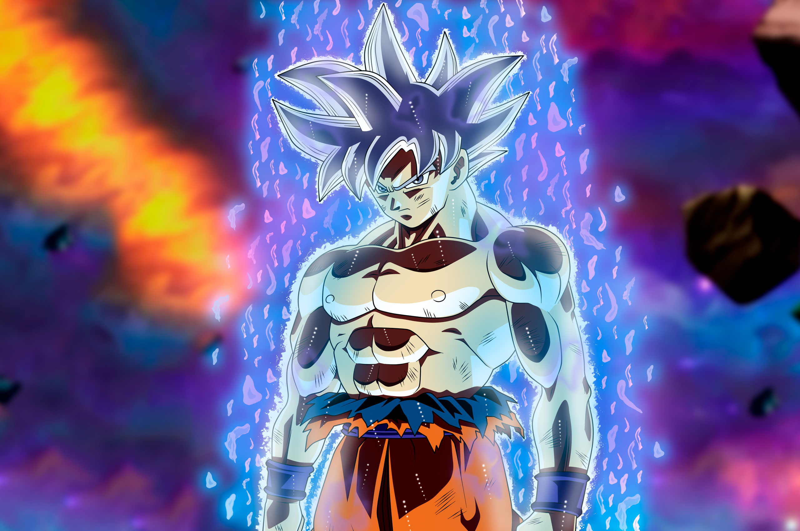 Goku Ultra Instinct 4k Wallpapers: 2560x1700 Goku Migatte No Gokui Perfecto Ultra Instinct