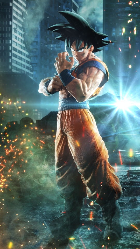 540x960 Goku Monkey D Luffy Naruto Jump Force 8k 540x960 Resolution
