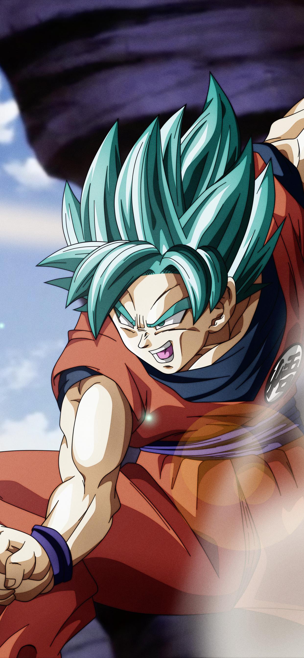 1242x2688 Goku Super Saiyan Blue Iphone Xs Max Hd 4k Wallpapers