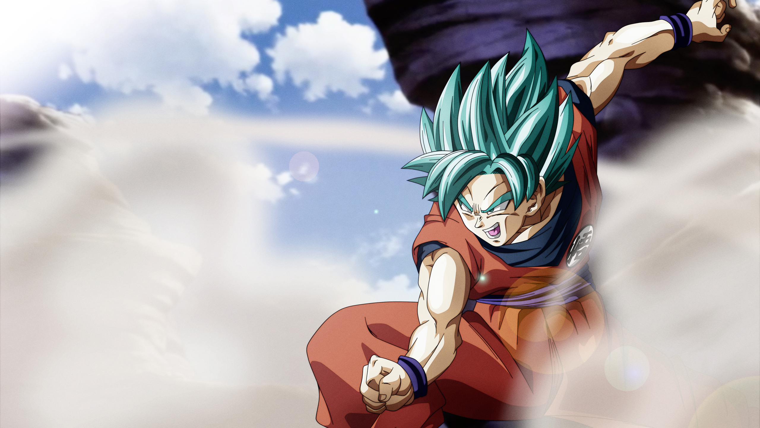2560x1440 Goku Super Saiyan Blue 1440P Resolution HD 4k ...