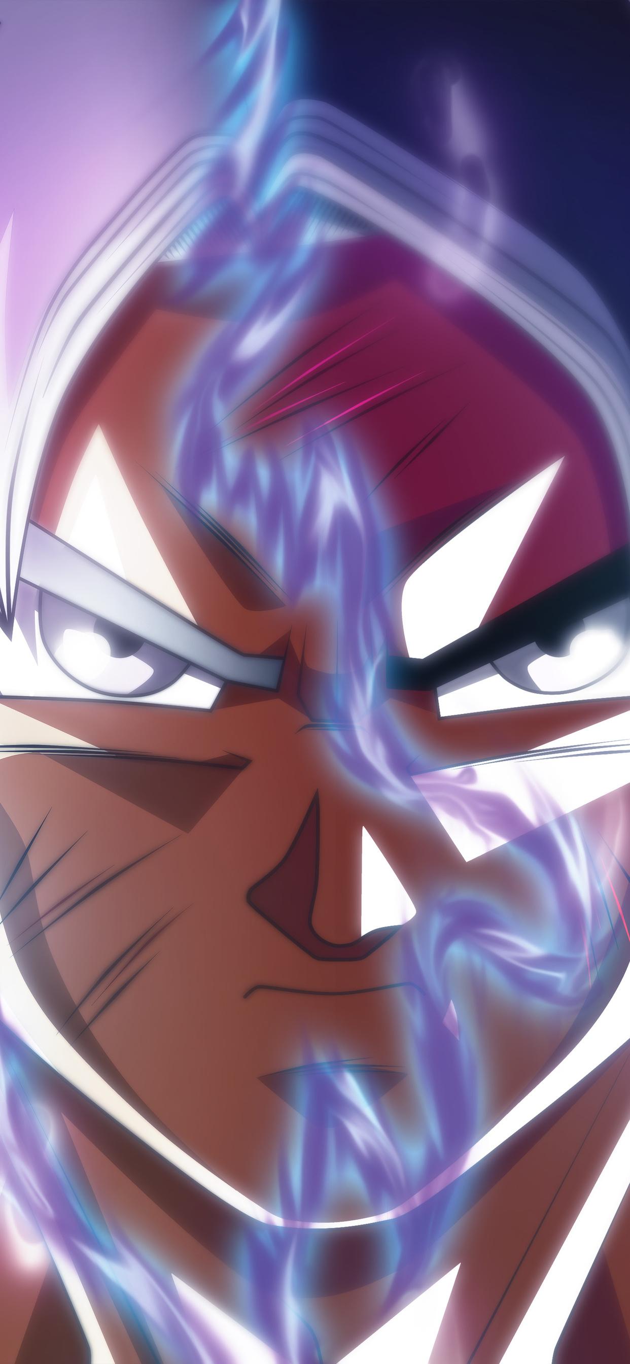 1242x2688 Goku Ultra Instinct Transformation Iphone Xs Max