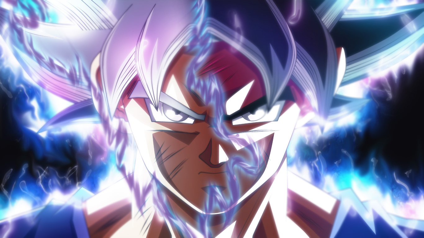 1366x768 Goku Ultra Instinct Transformation 1366x768 Resolution Hd 4k Wallpapers Images Backgrounds Photos And Pictures