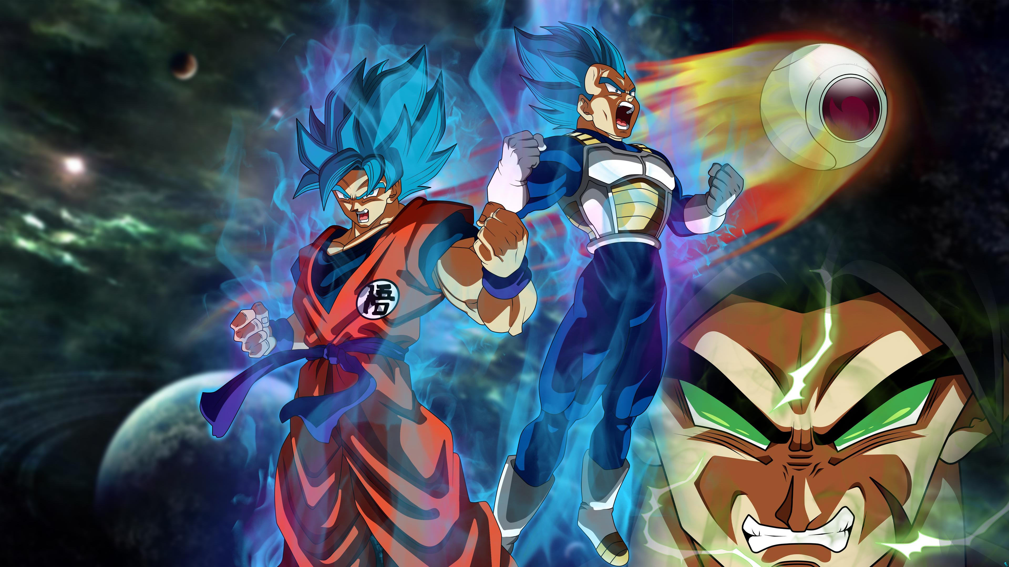 3840x2160 Goku Vegeta Dragon Ball Super 5k 4k Hd 4k Wallpapers