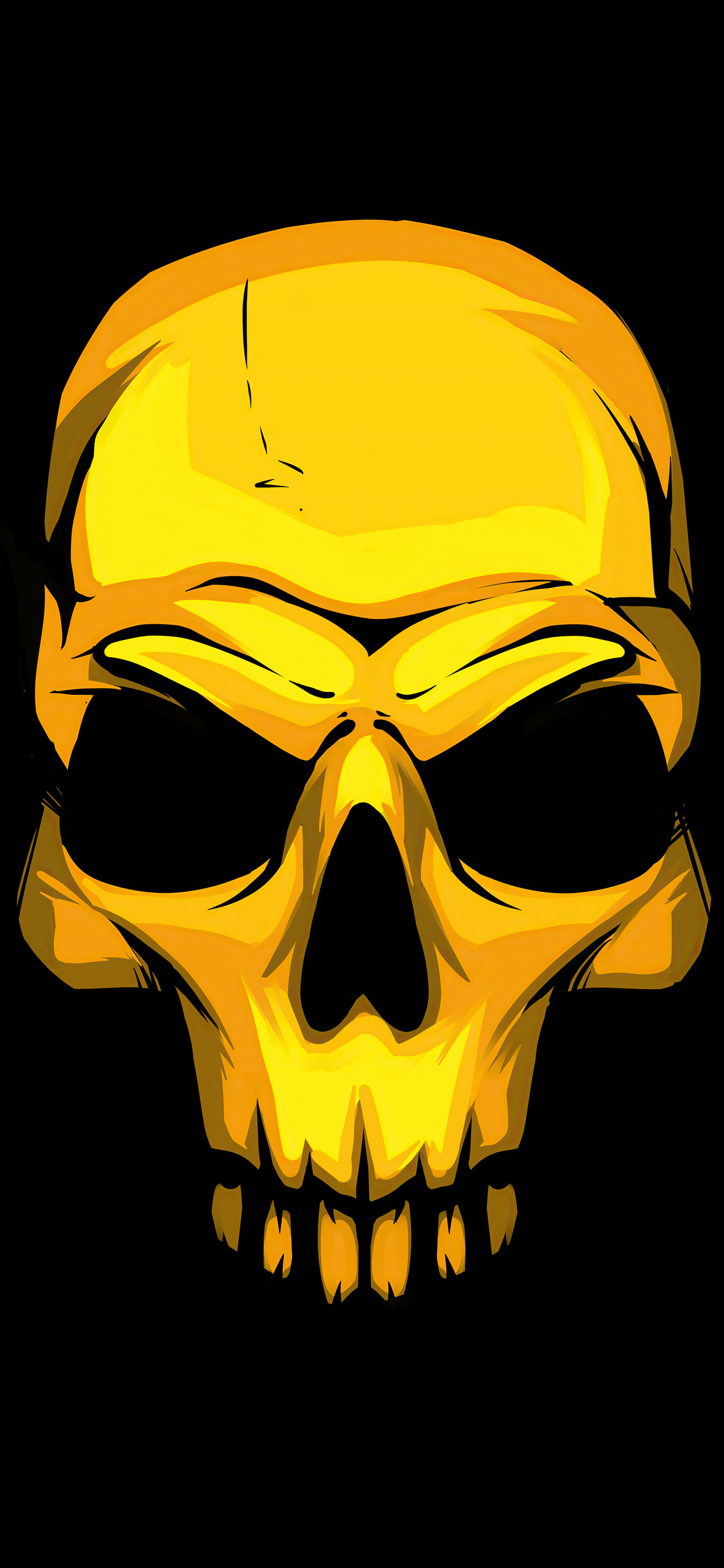 1242x2688 Gold Skull Dark Background 4k Iphone Xs Max Hd 4k Wallpapers Images Backgrounds Photos And Pictures
