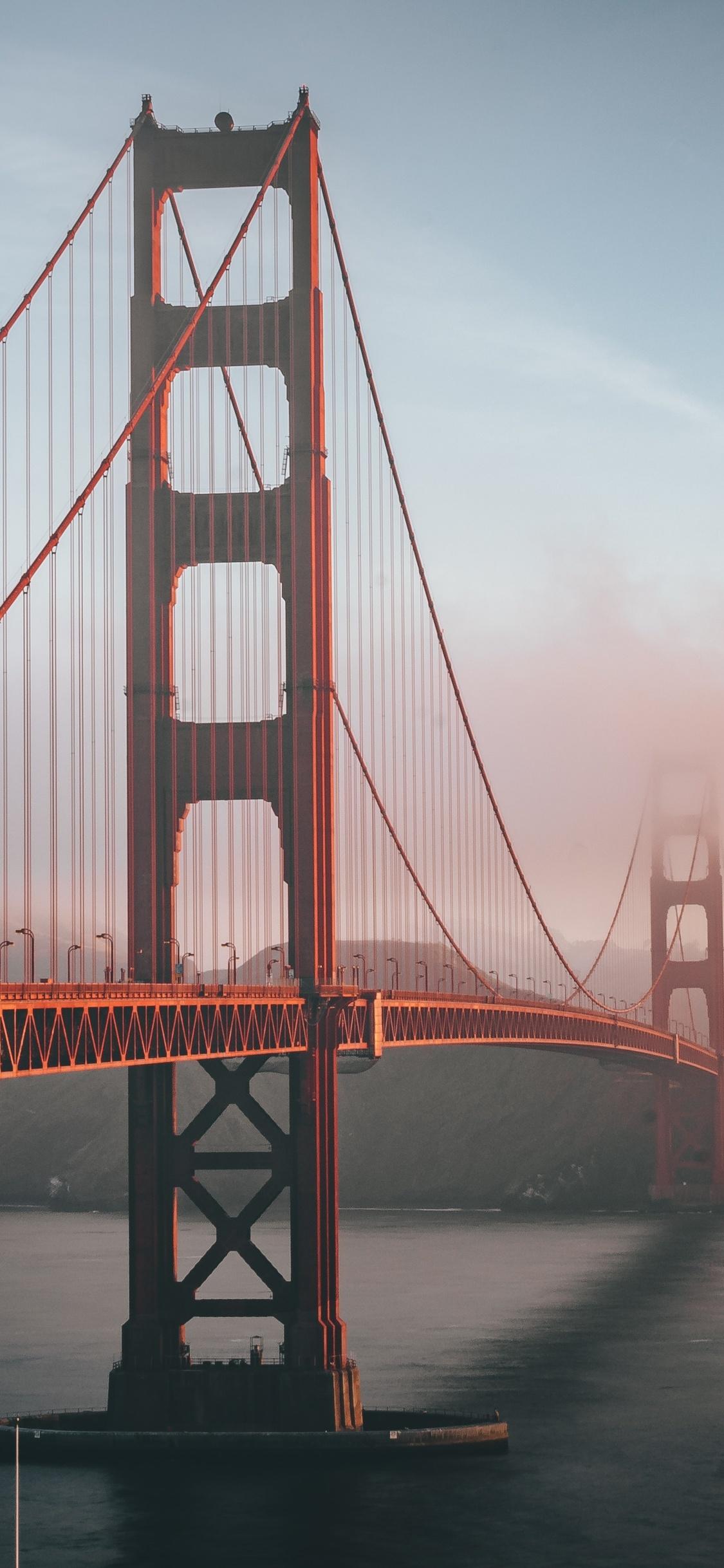 1125x2436 Golden Gate Bridge 5k Iphone Xs Iphone 10 Iphone X Hd 4k