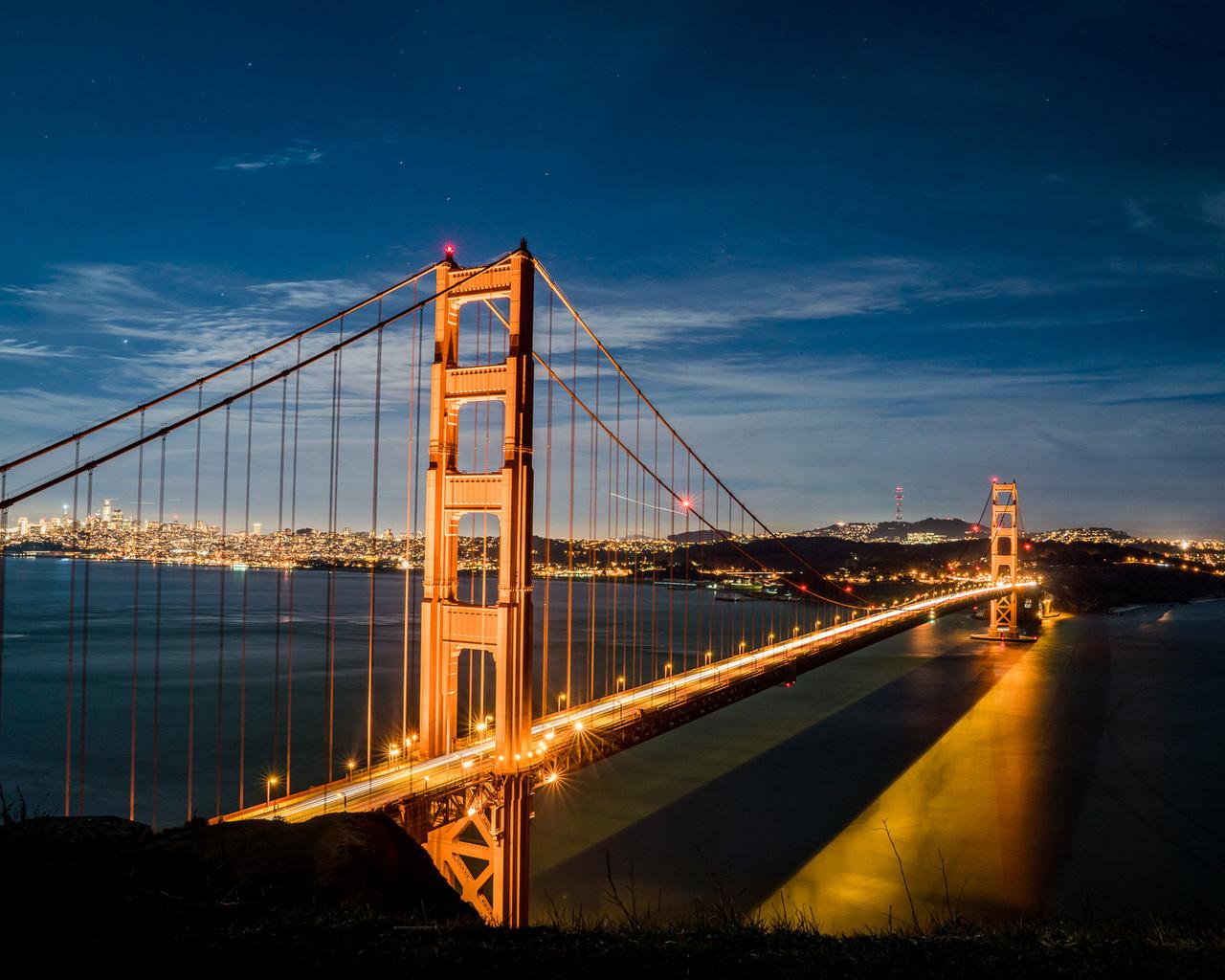 Golden Gate Bridge 1280x1024 Resolution