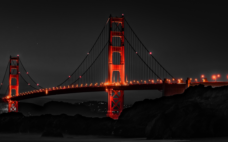 Good Wallpaper Macbook San Francisco - golden-gate-bridge-san-francisco-night-ds-2880x1800  Best Photo Reference_626651.jpg