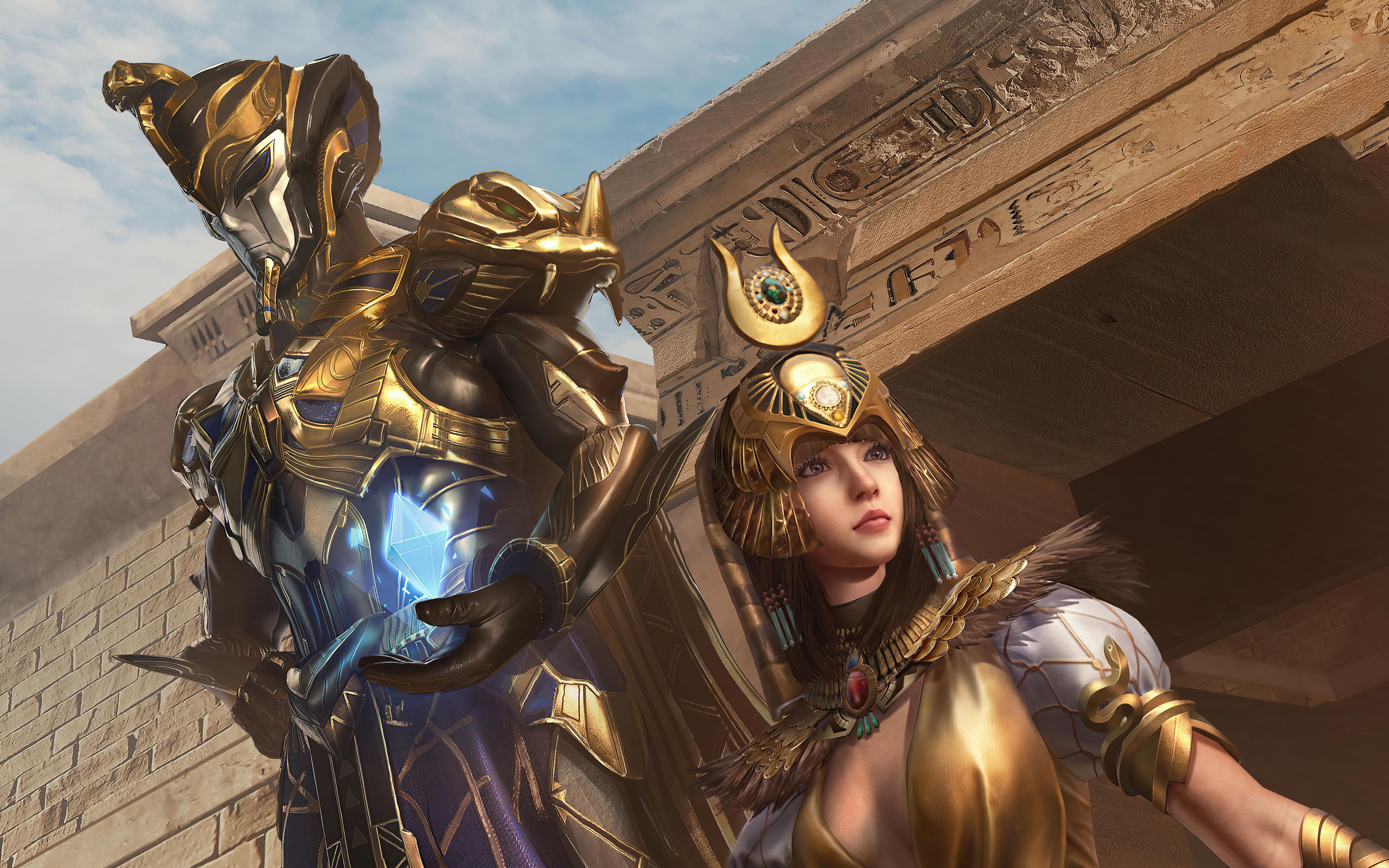 3840x2400 Golden Pharaoh X Suit Pubg 4k HD 4k Wallpapers ...