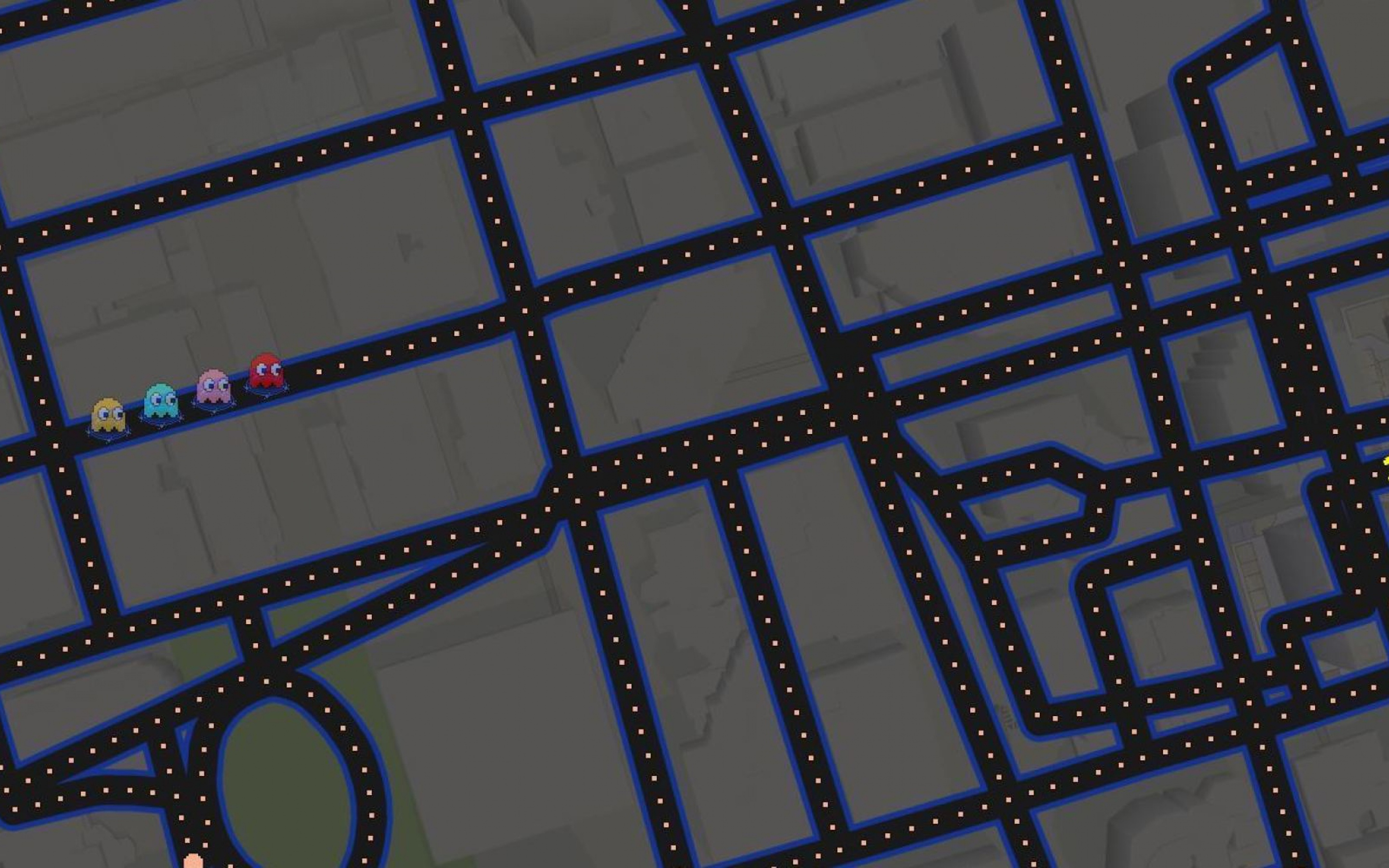 2880x1800 Google Maps Pacman Art Macbook Pro Retina HD 4k ... on maps for microsoft office, maps for tablets, maps for kindle fire, maps for iphone,