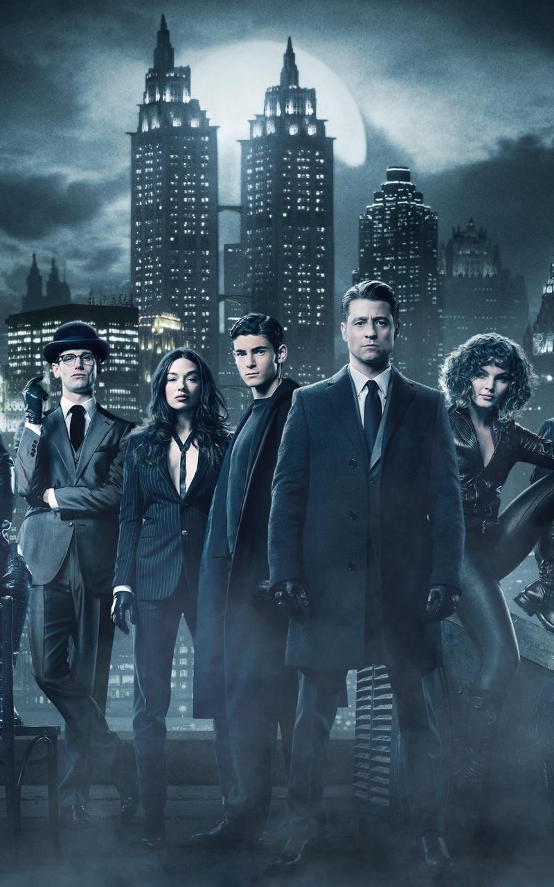 800x1280 gotham season 4 cast 5k nexus 7 samsung galaxy - Gotham wallpaper ...