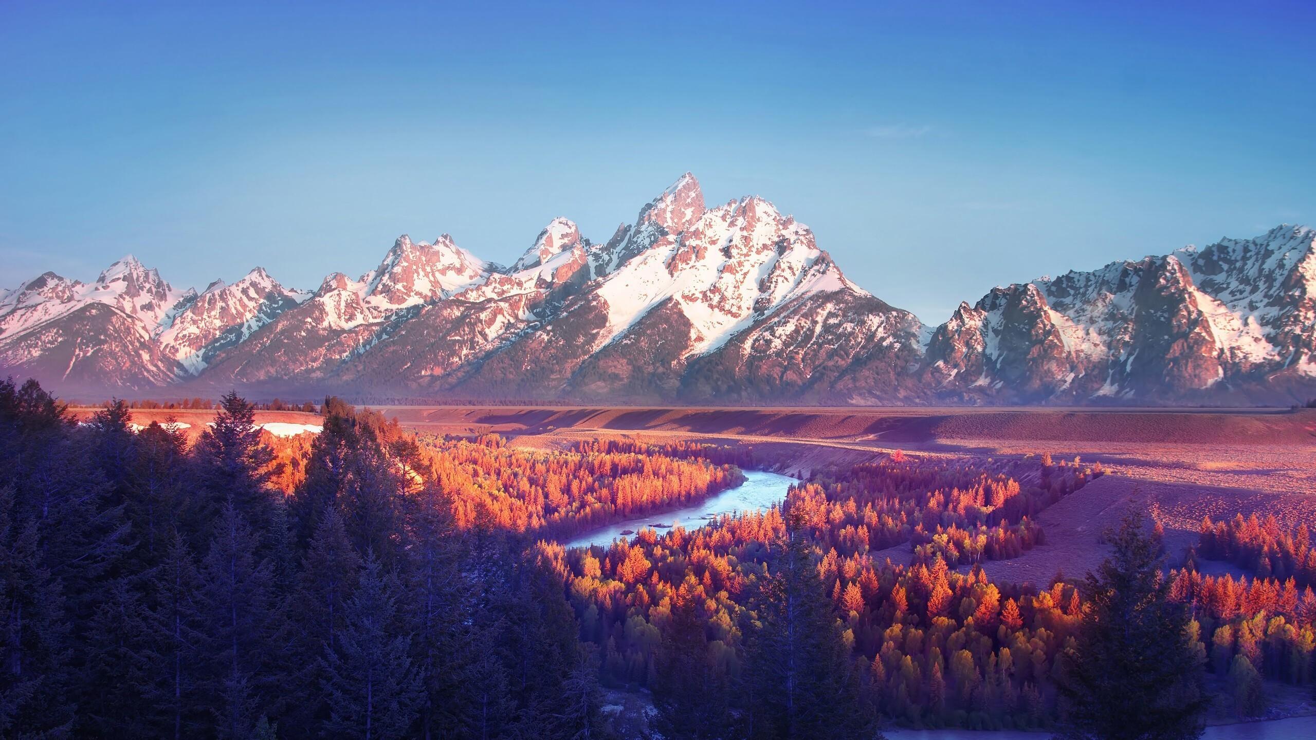 2560x1440 Grand Teton National Park 4k 1440p Resolution Hd 4k