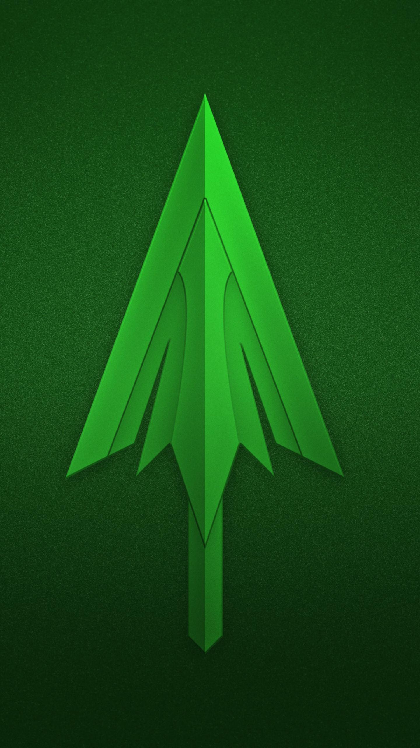 1440x2560 Green Arrow Logo Samsung Galaxy S6,S7 ,Google ...