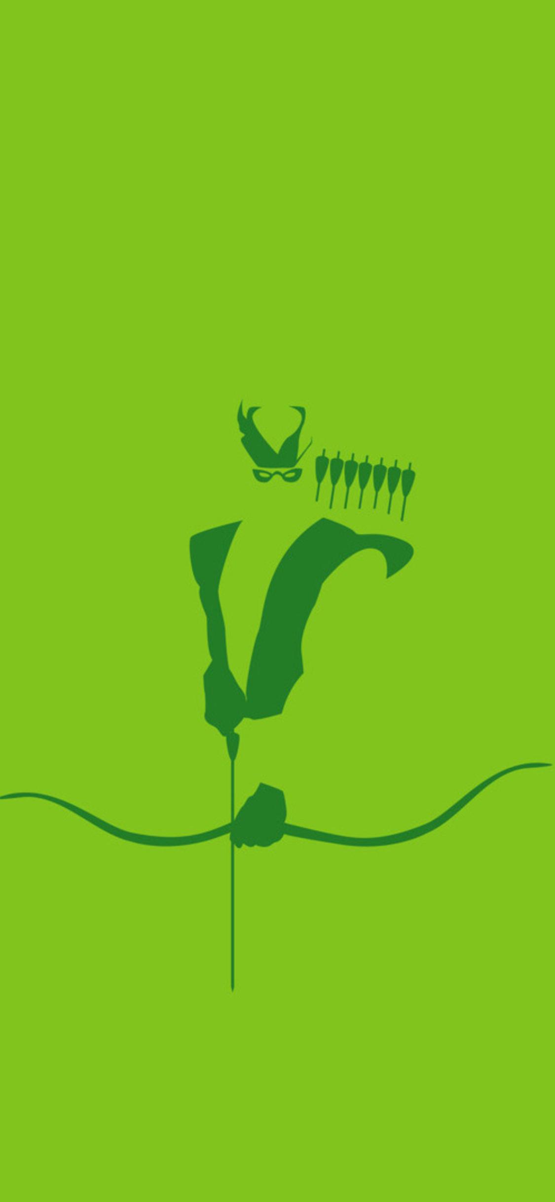 Green Arrow Minimalism Hd Id