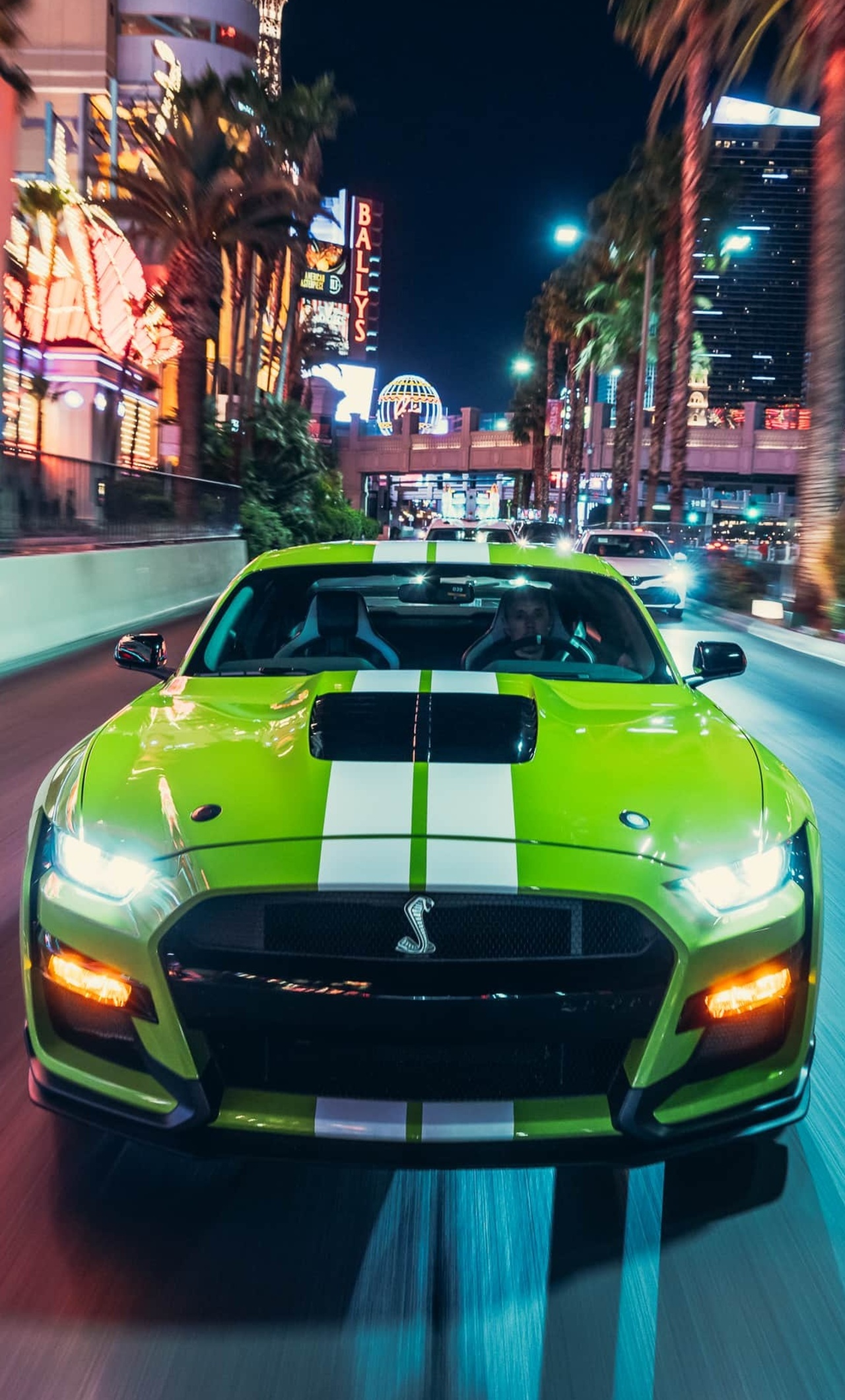 1280x2120 Green Ford Mustang Shelby GT500 2020 iPhone 6 ...