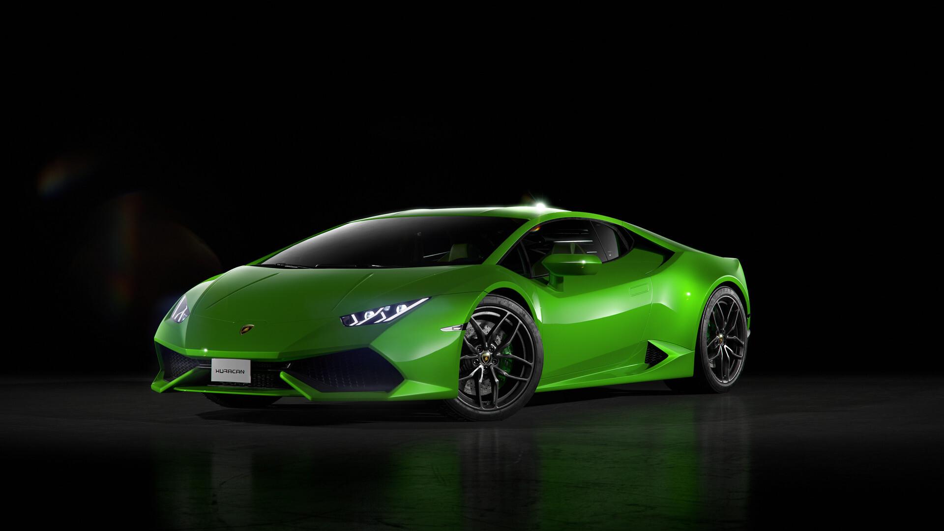 1920x1080 Green Lamborghini Huracan Front Laptop Full HD ...