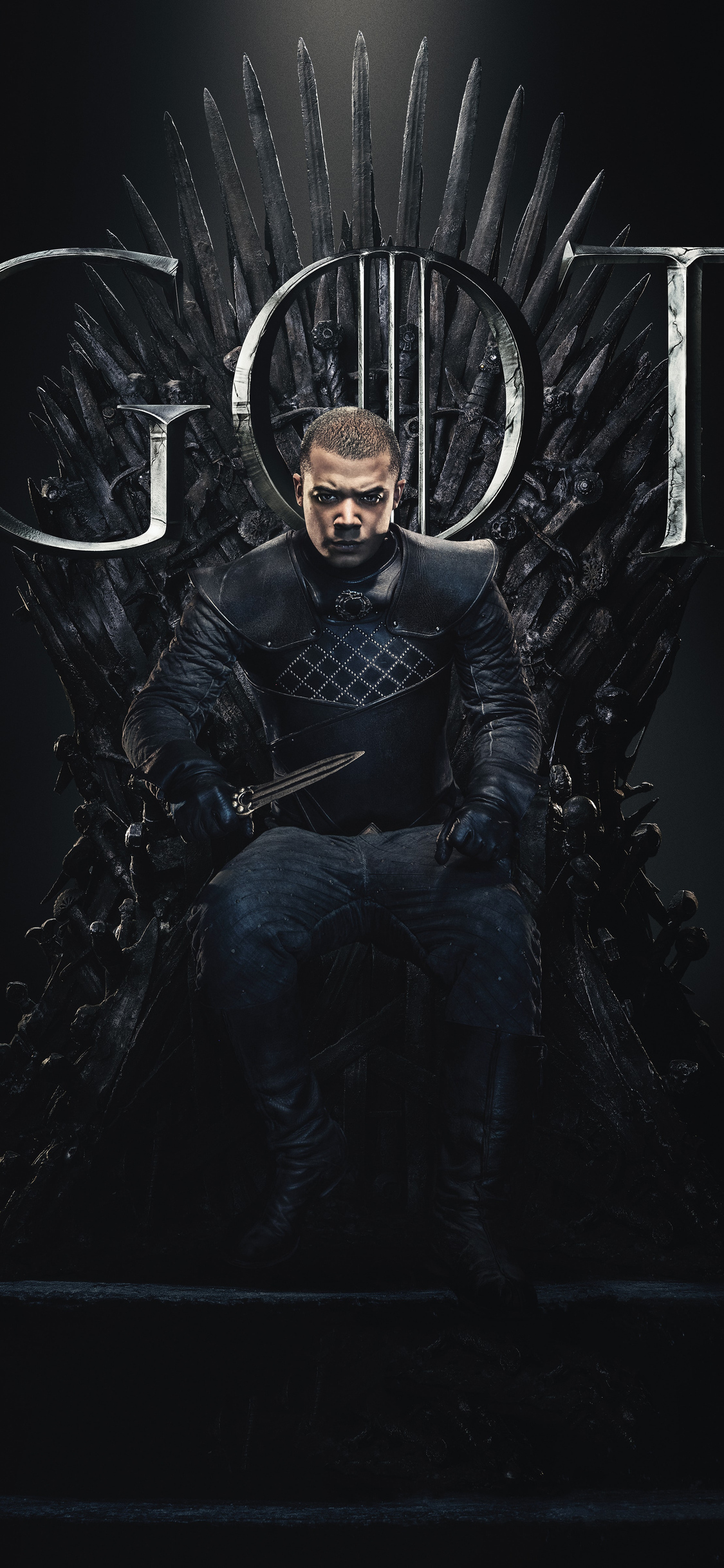 1125x2436 Grey Worm Game Of Thrones Season 8 Poster Iphone