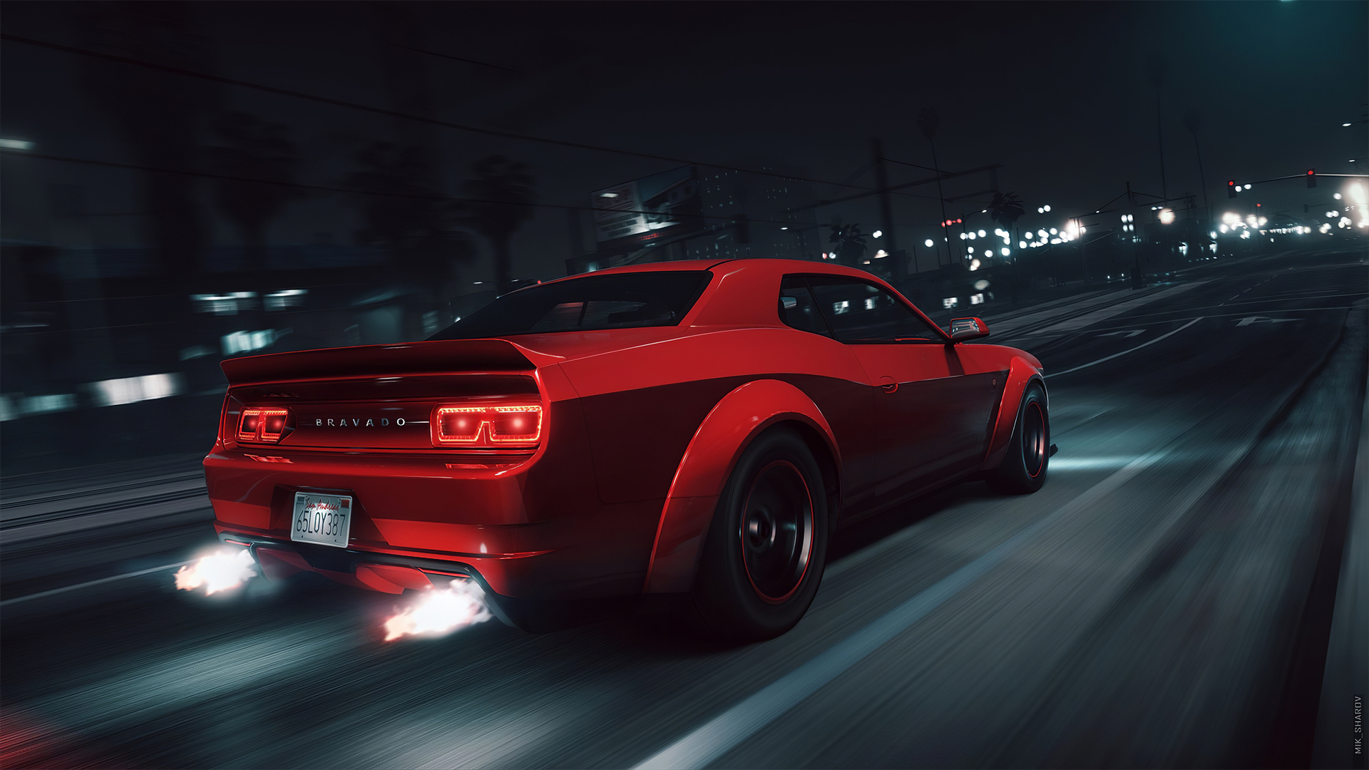 1920x1080 Gta 5 Dodge Challenger 4k Laptop Full Hd 1080p Hd 4k