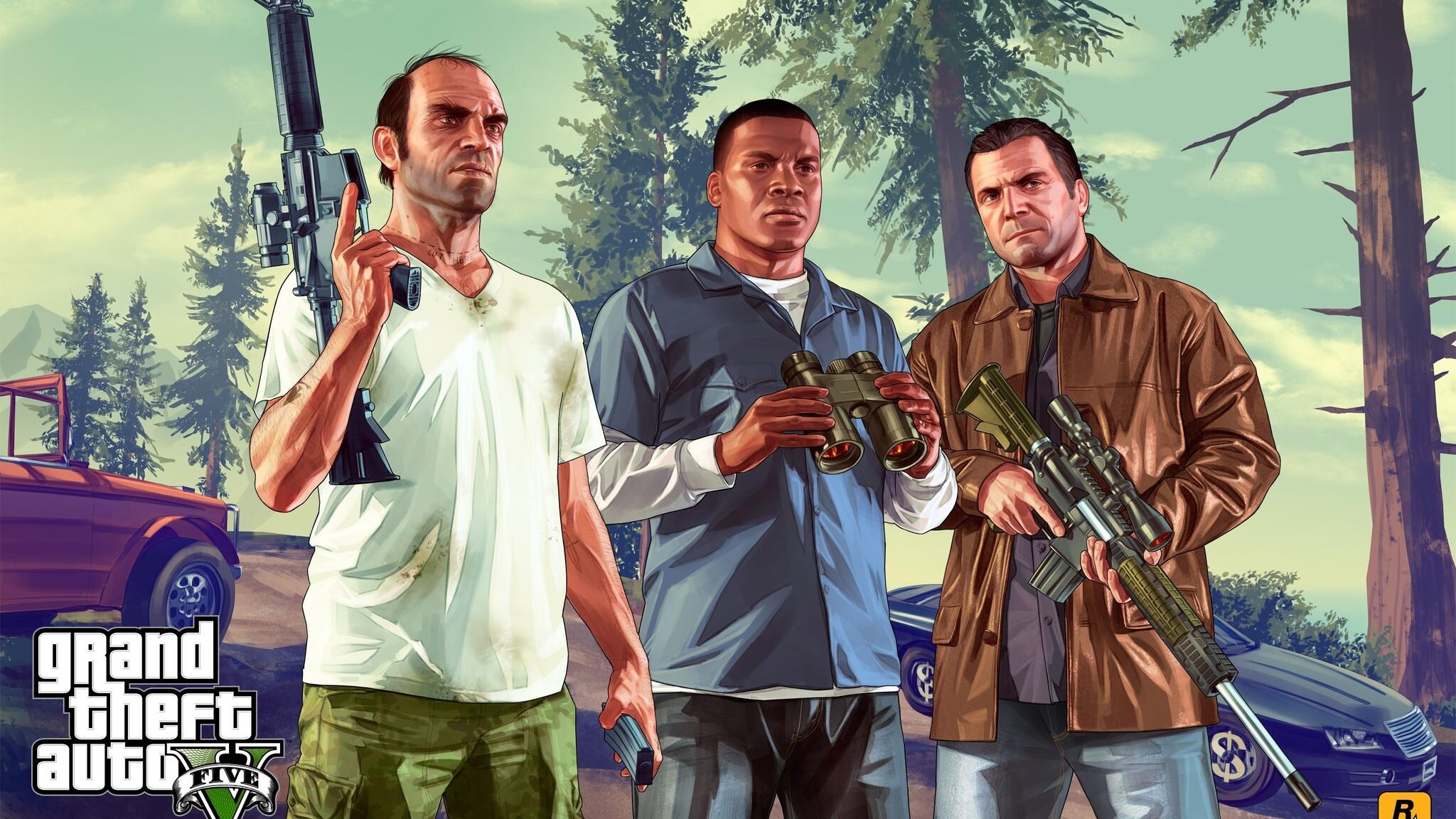 Gta 5 Game Wallpaper