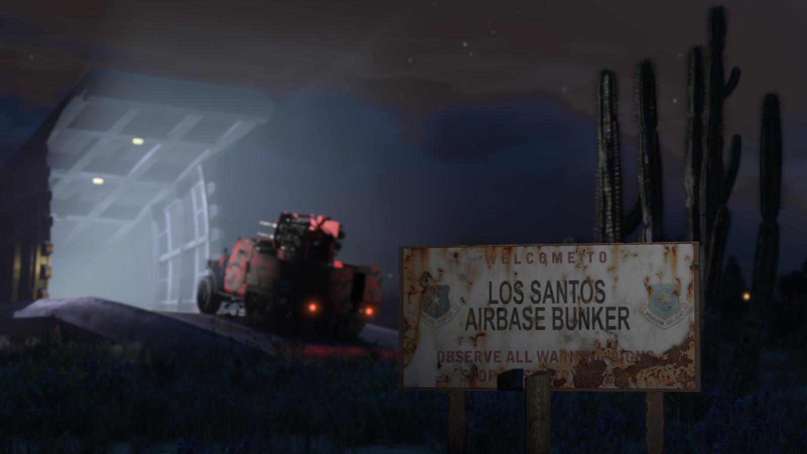 Gta 5 Online Gunrunning Bunker Hu