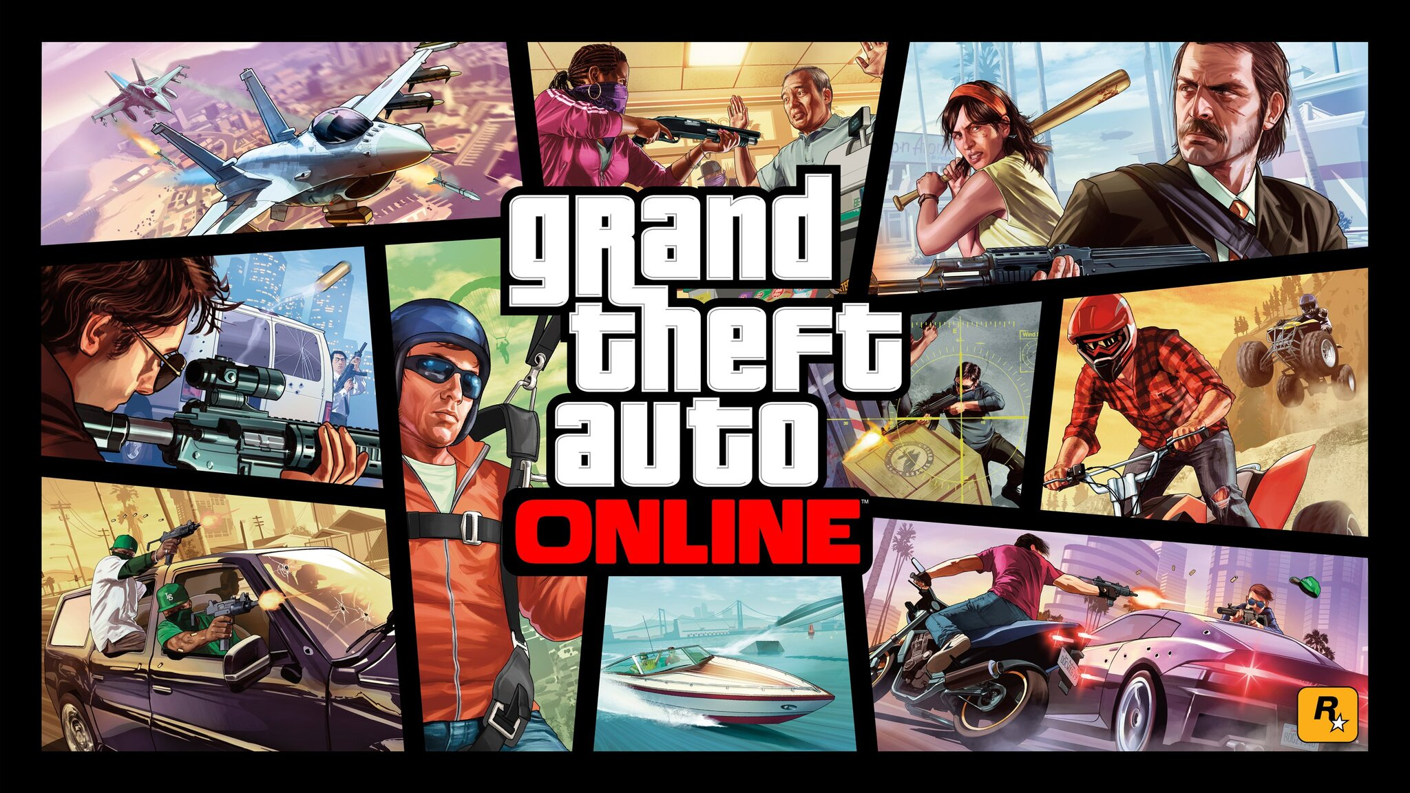 2048x1152 gta online logo 2048x1152 resolution hd 4k wallpapers images backgrounds photos and - Gta wallpaper download ...