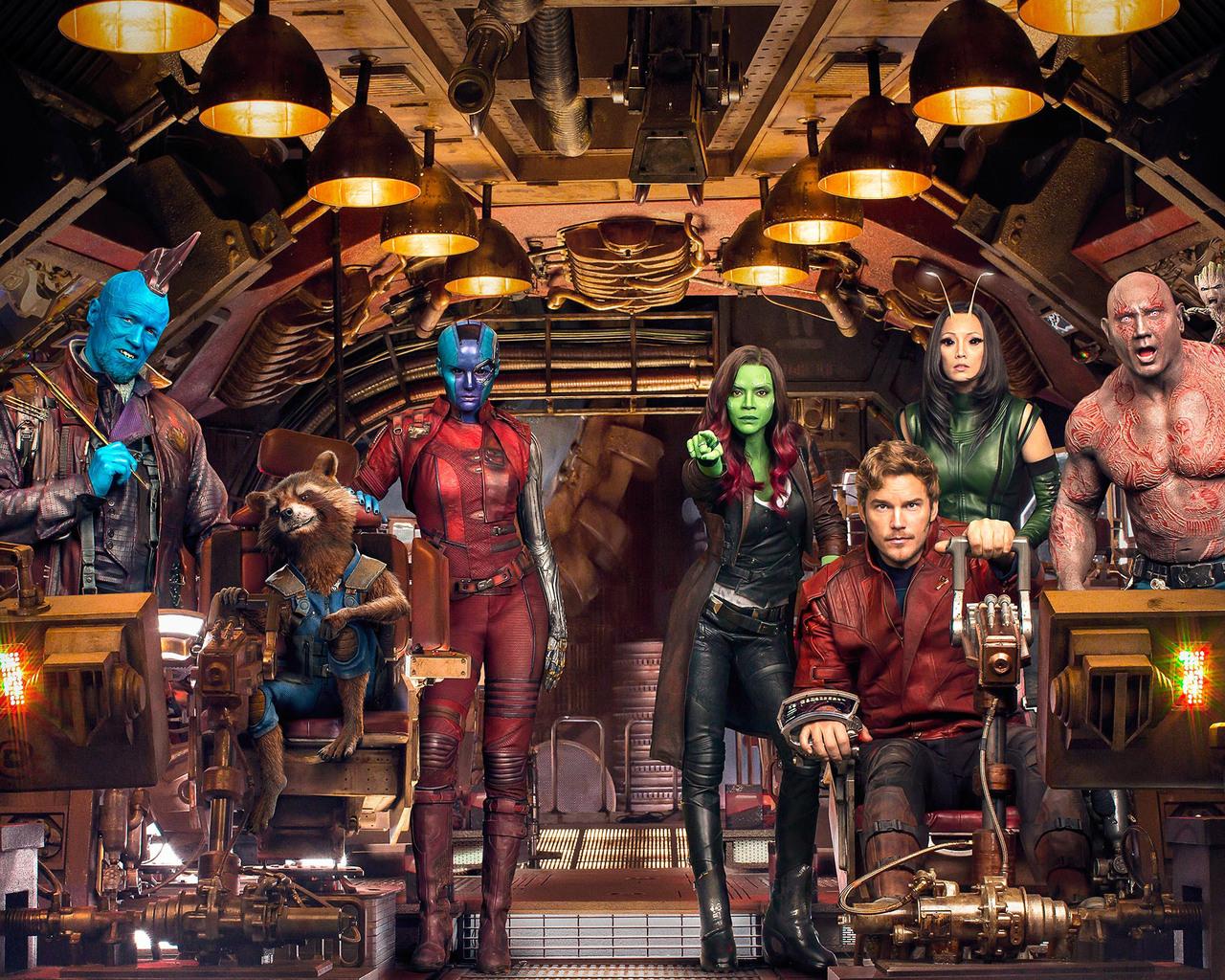 Guardians Of The Galaxy Vol 2 Wallpaper: 1280x1024 Guardians Of The Galaxy Vol 2 Cast 1280x1024