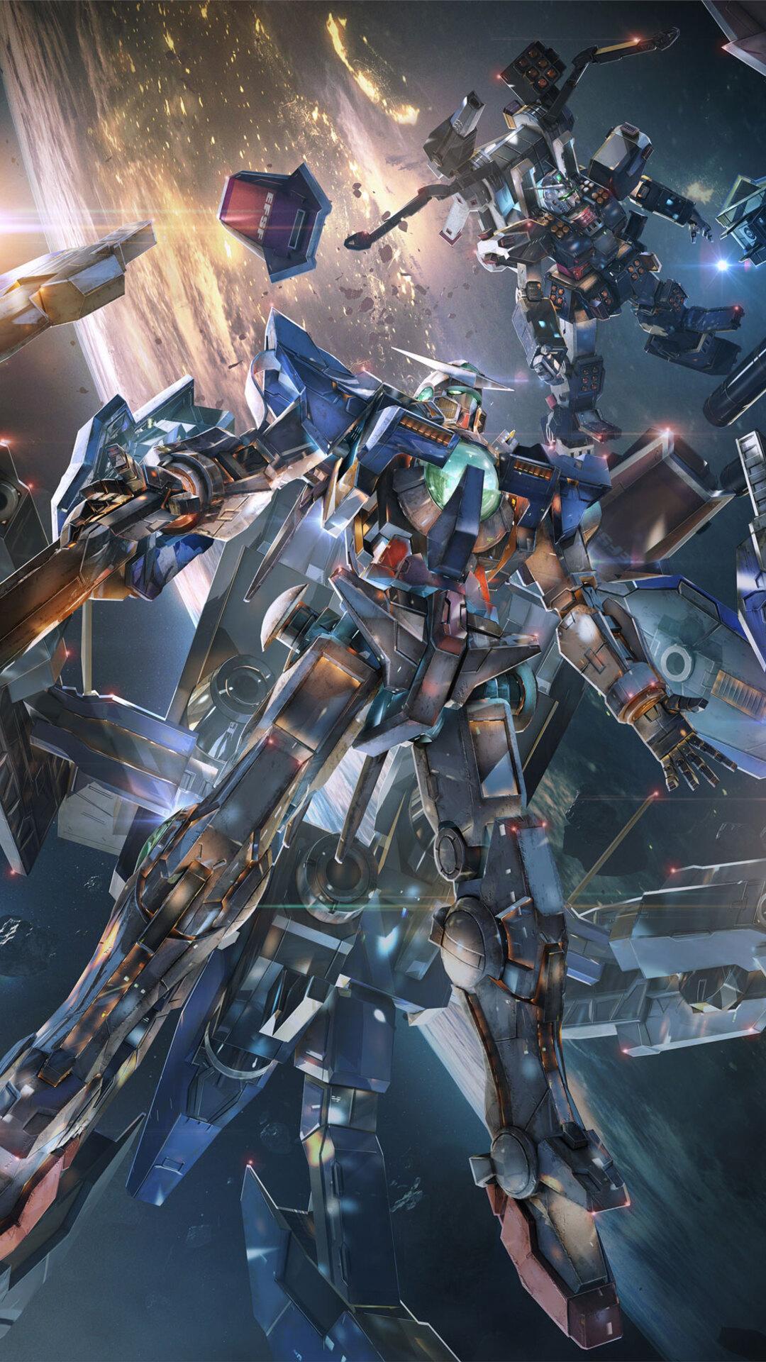 1080x1920 Gundam Versus 4k Iphone 7,6s,6 Plus, Pixel xl ...