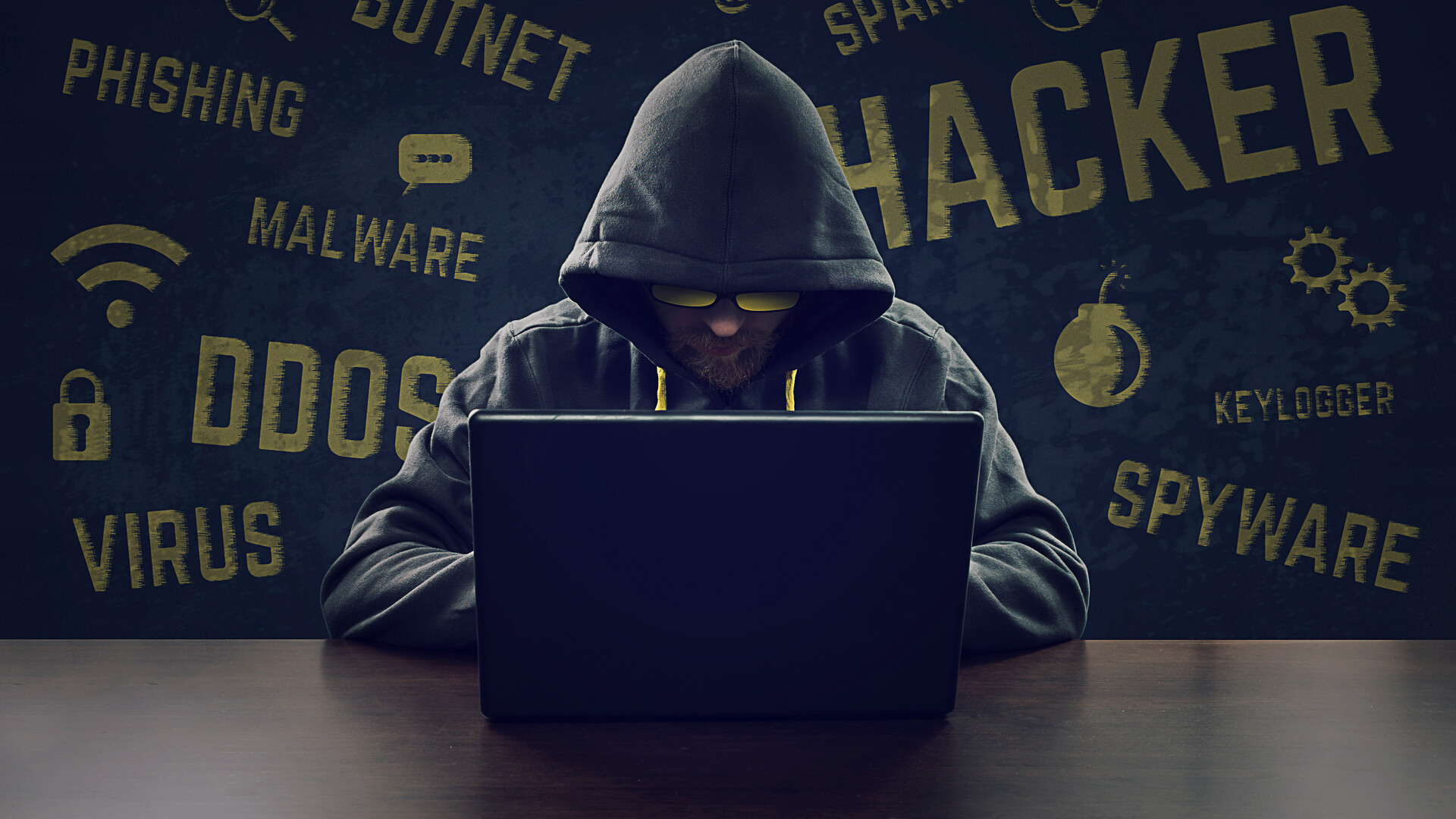 1920x1080 Hacker Laptop Full Hd 1080p Hd 4k Wallpapers
