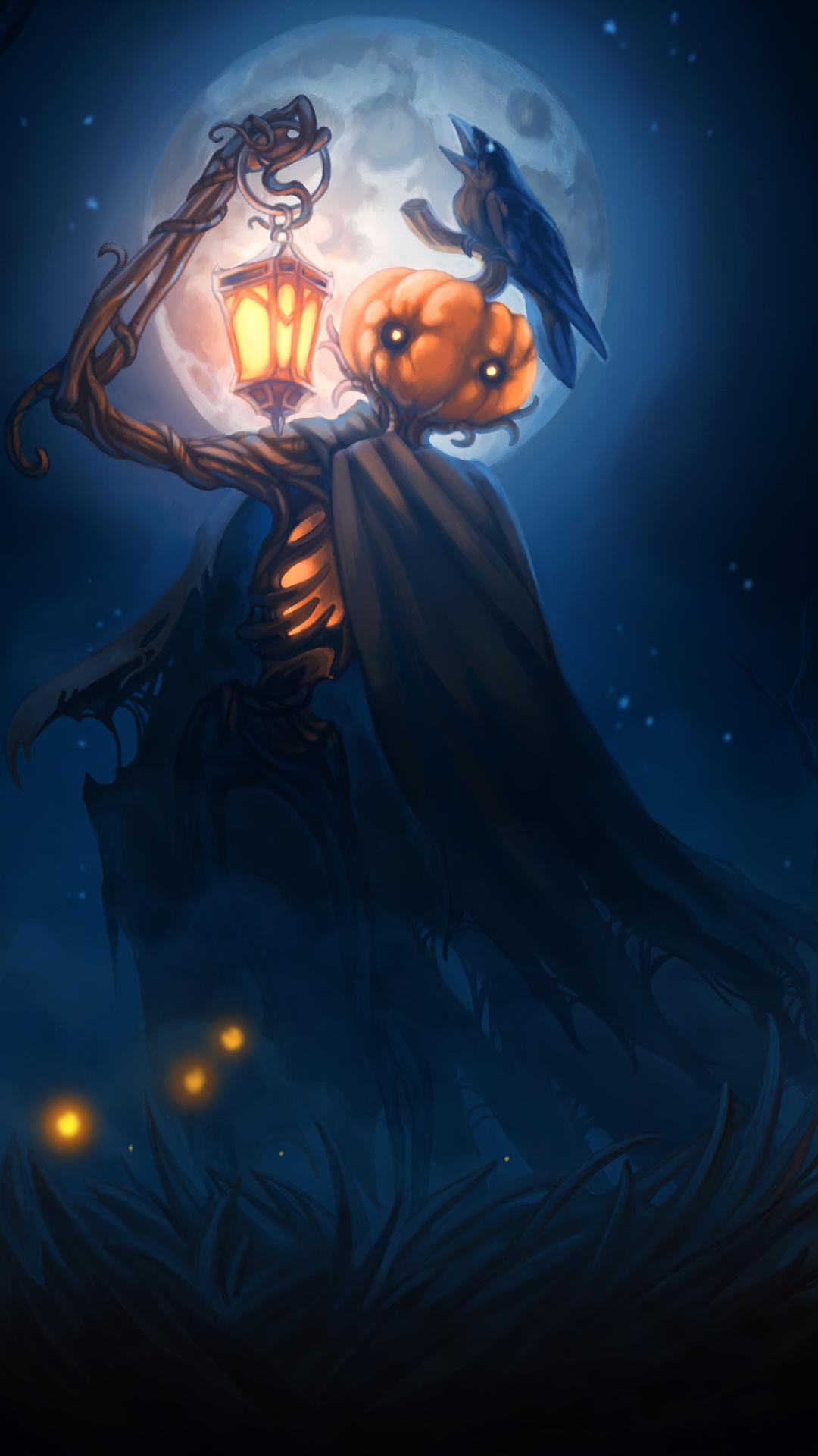 1080x1920 Halloween 2018 Digital Art 4k Iphone 7,6s,6 Plus ...