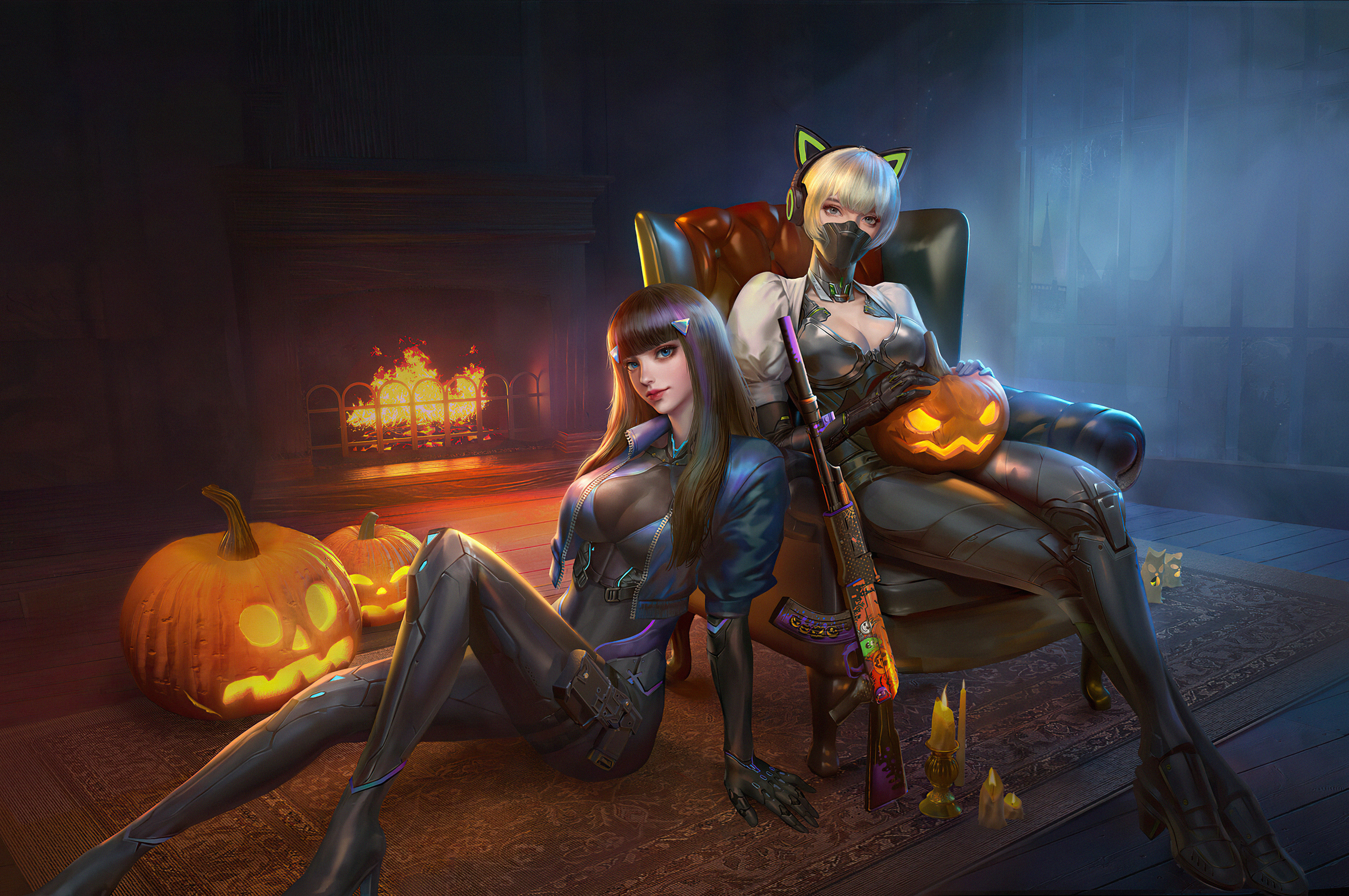 halloween-warriors-girls-with-guns-4k-ap.jpg