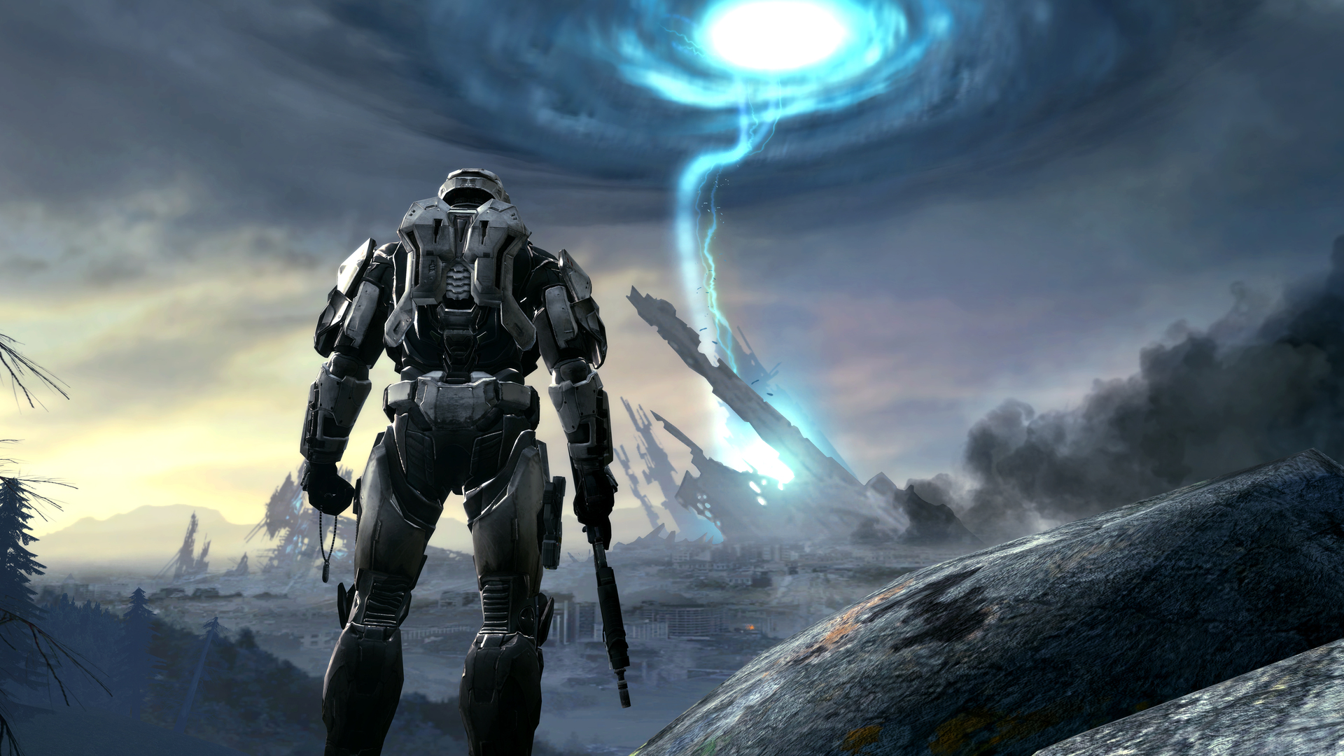 1920x1080 Halo Game Artwork In 4k Laptop Full Hd 1080p Hd 4k