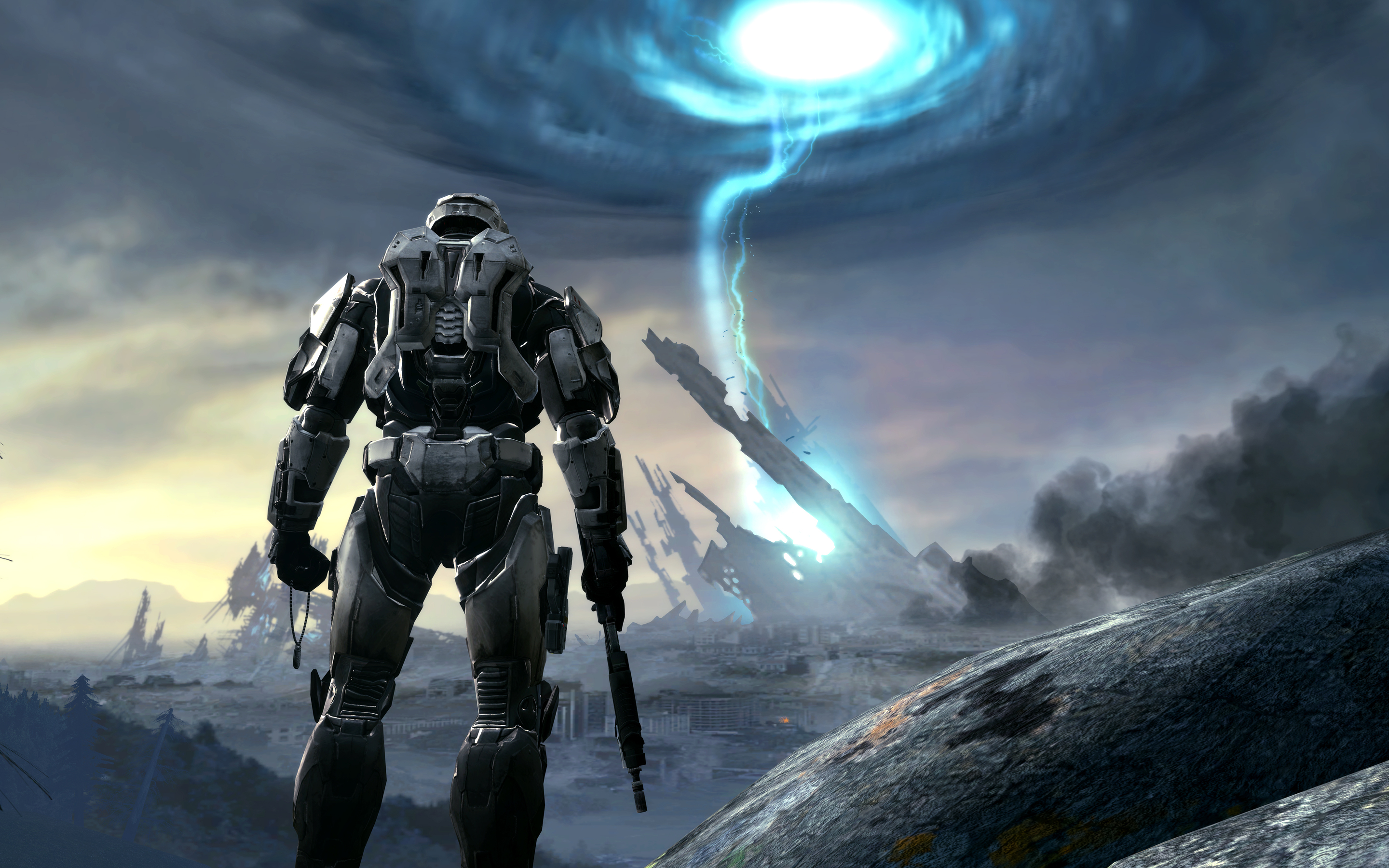 2880x1800 halo game artwork in 4k macbook pro retina hd 4k