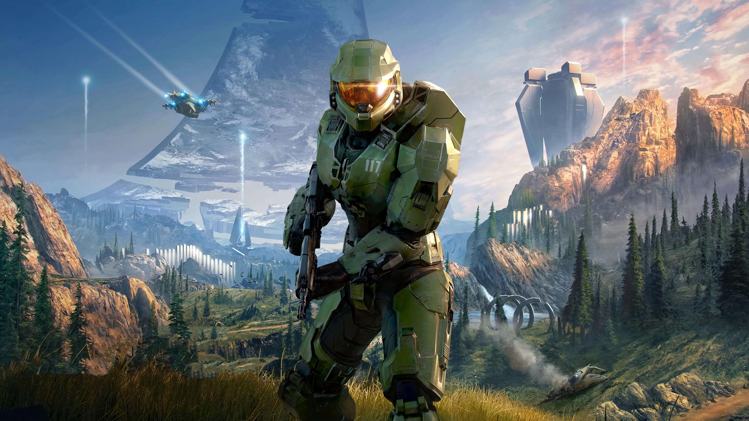 2560x1440 Halo Infinite 10k 1440P Resolution HD 4k ...