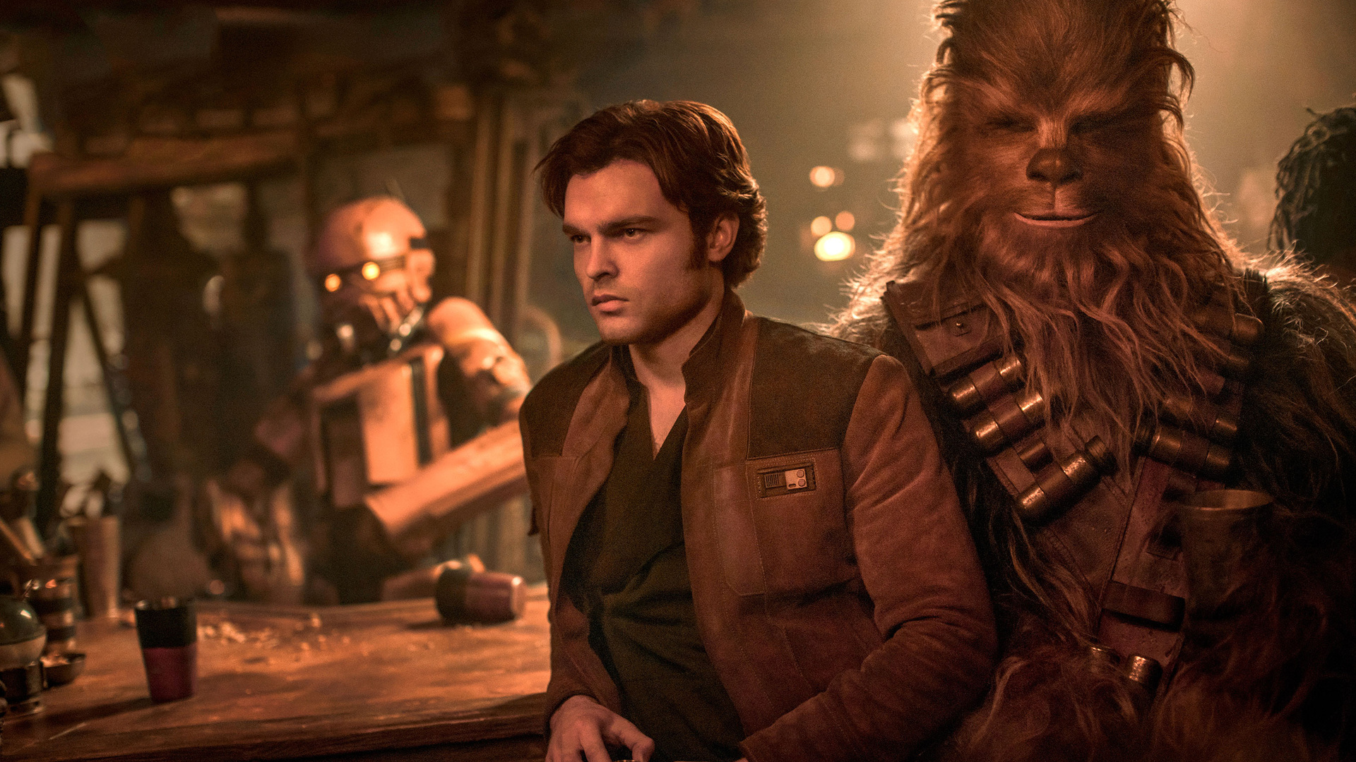 1920X1080 Han Solo And Chewbacca In Solo A Star Wars Story Entertainment Weekly Laptop -5122