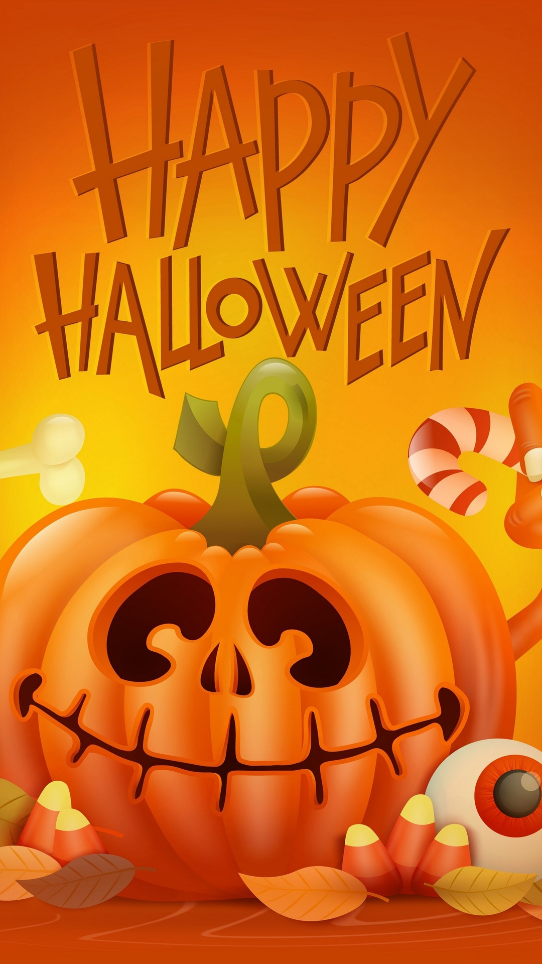 1080x1920 Happy Halloween 4k Iphone 7 6s 6 Plus Pixel Xl One