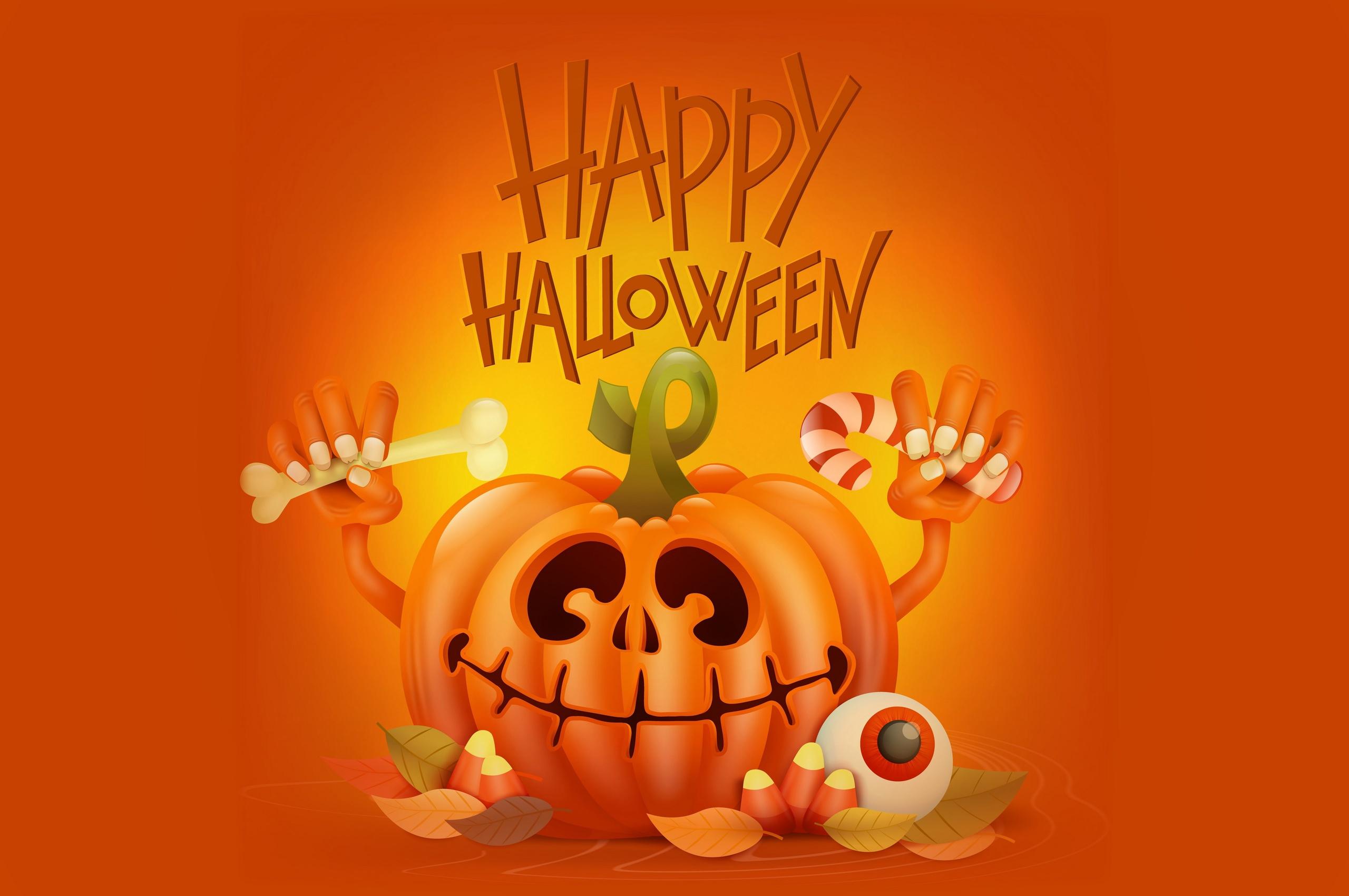 2560x1700 Happy Halloween 4k Chromebook Pixel HD 4k ...