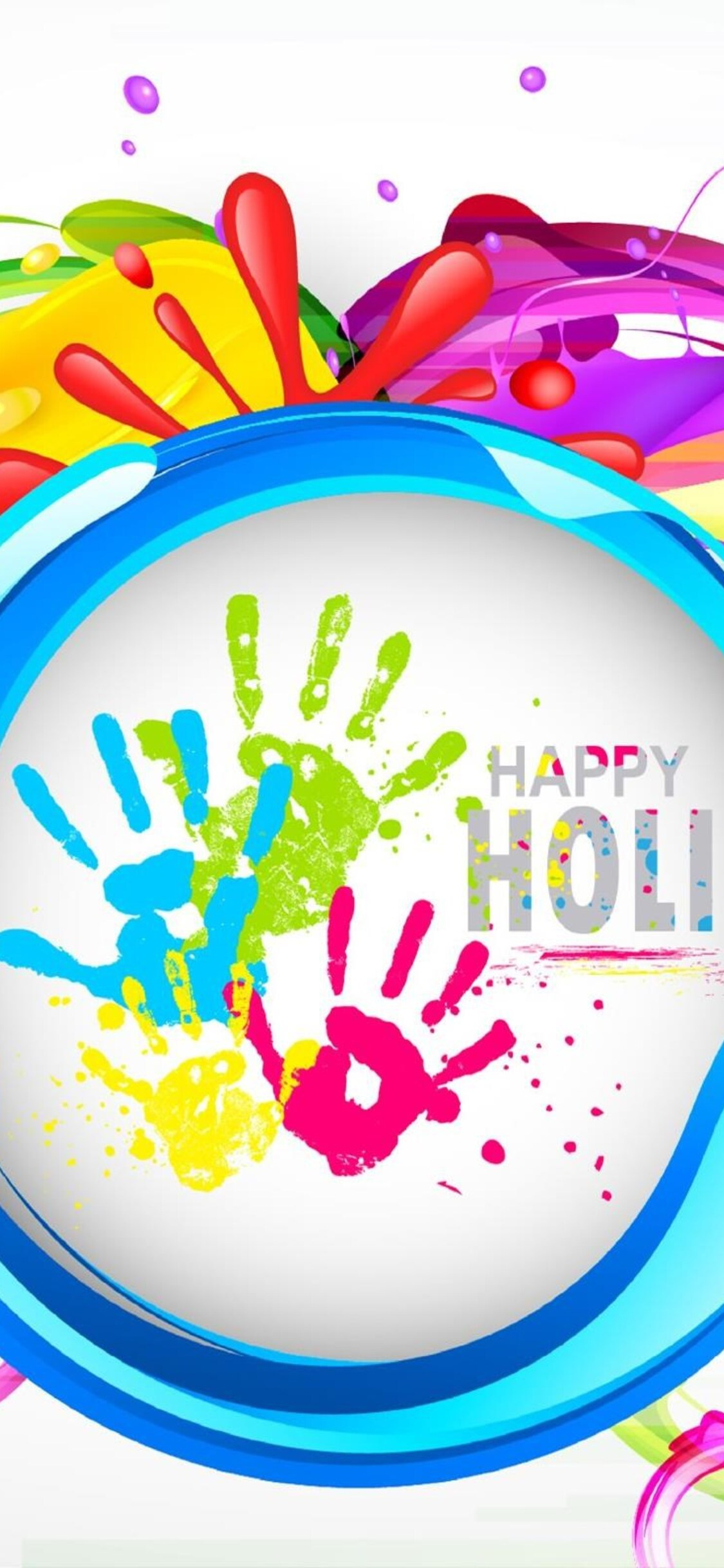 1125x2436 happy holi images iphone x,iphone 10 hd 4k wallpapers
